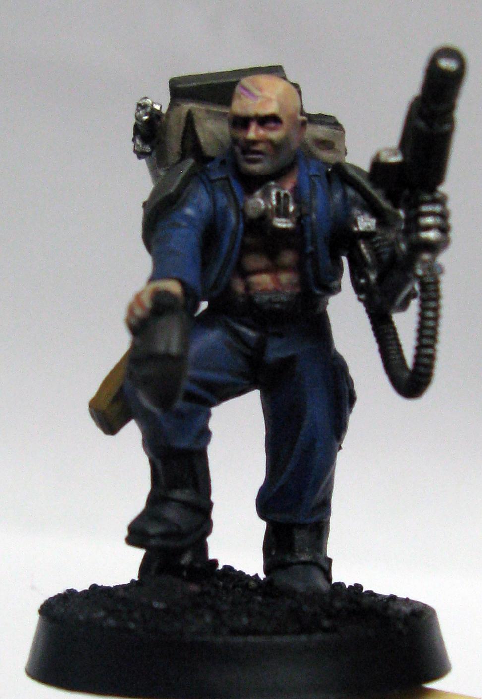 Alcatran, Bionics, Bodyguard, Fluff, Hellpistol, Imperial Guard, Veteran, Work In Progress