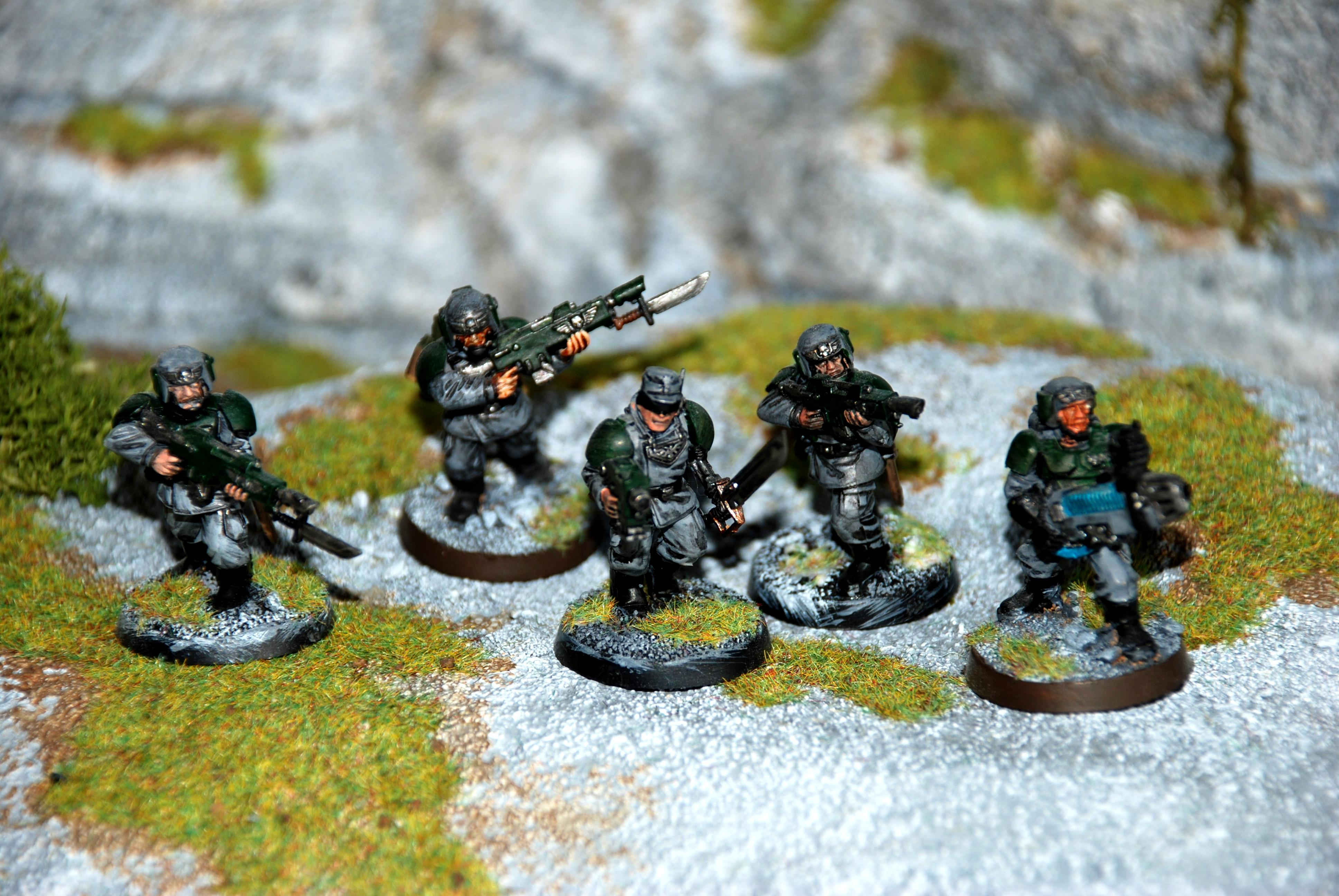 3rd Highland Rangers, Imperial Guard, Infantry, Troops, Warhammer 40,000
