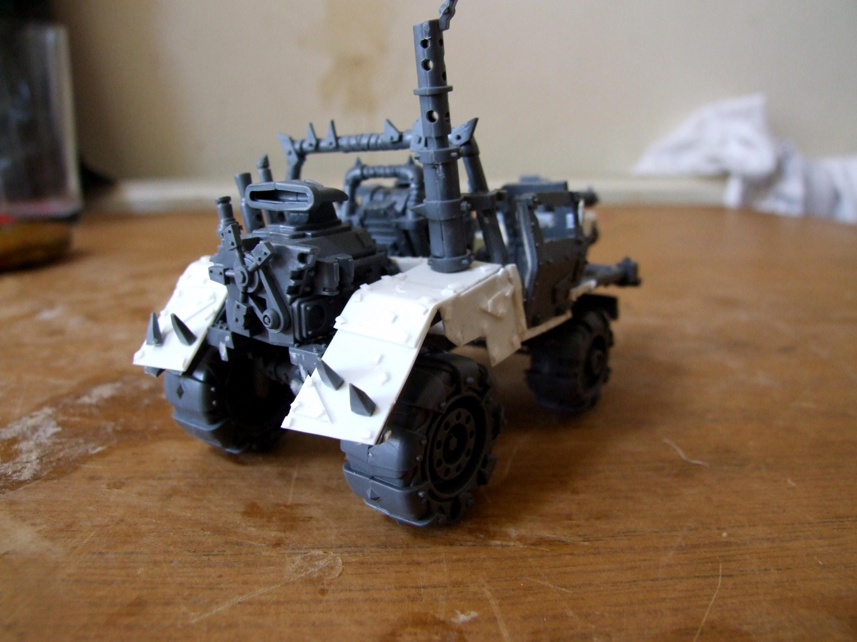 Conversion, Orks, Warbuggy, Work In Progress
