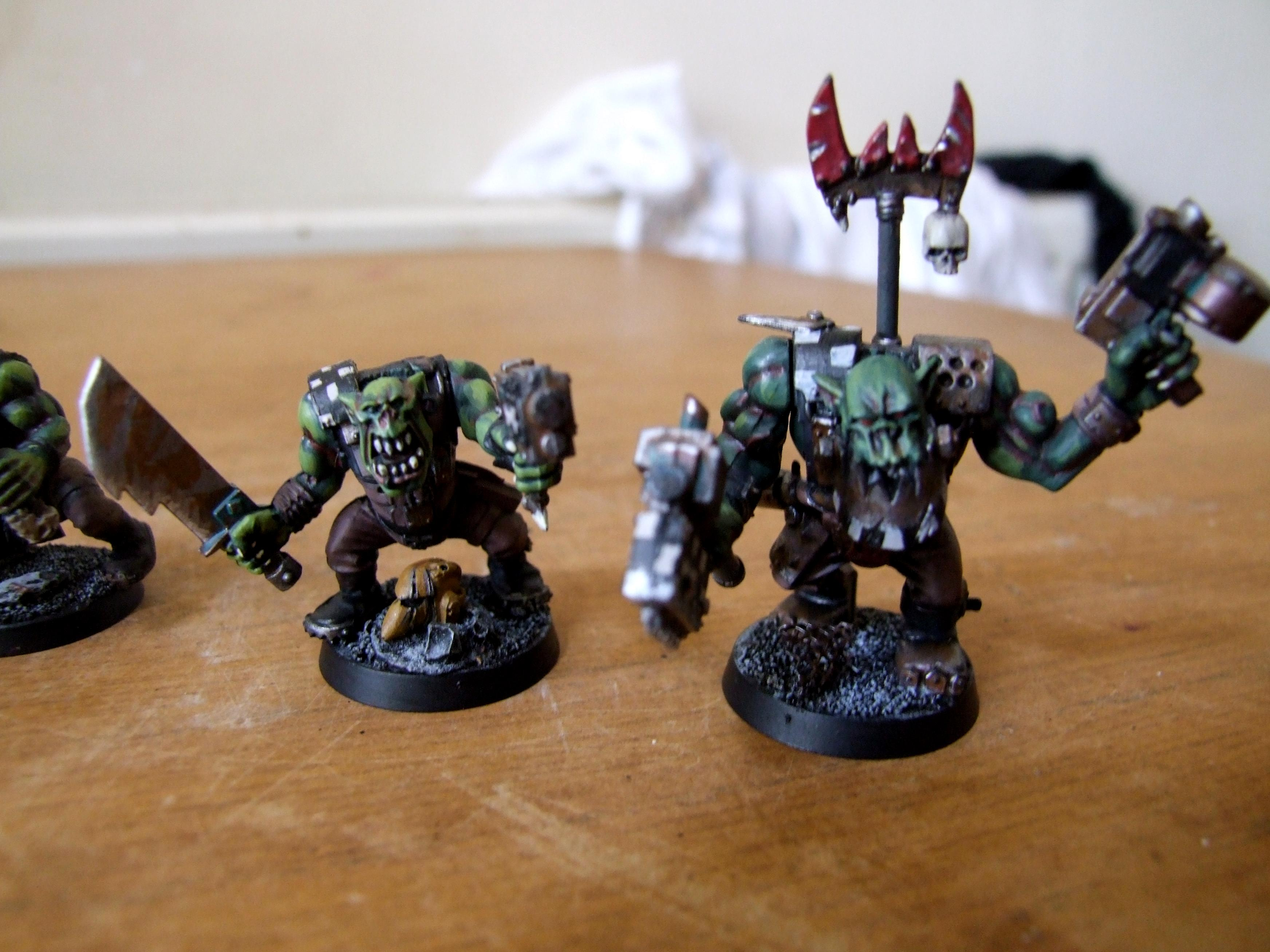 Boy, Conversion, Ork Conversions, Orks, Warhammer 40,000