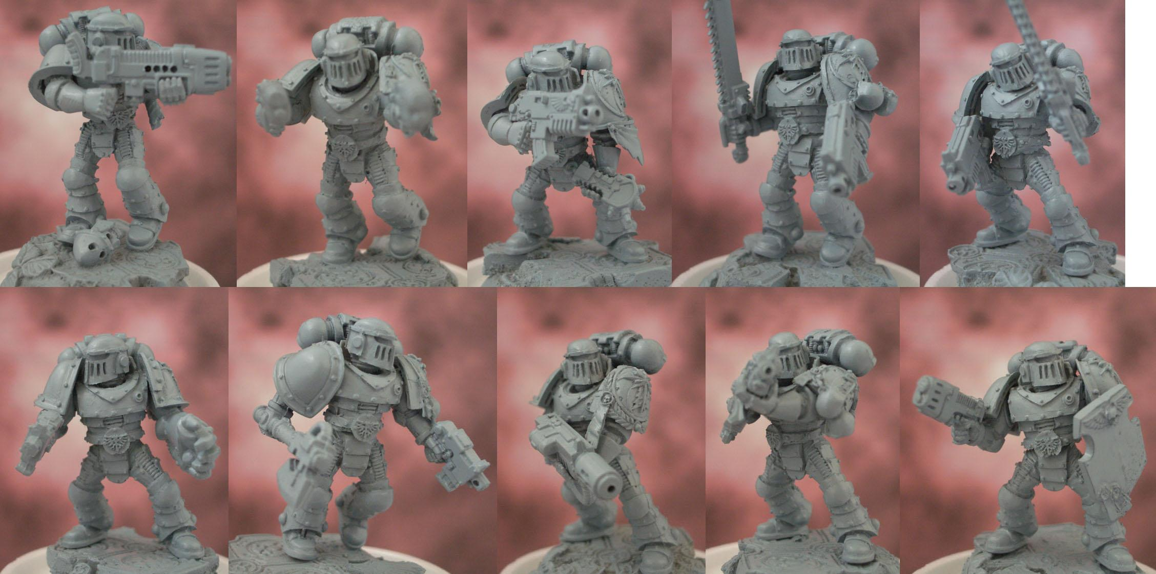 Astral, Astral Claws, Claws, Space Marines, Warhammer 40,000, Work In Progress