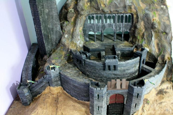 Castle, Cheese?, Helm's Deep, Lord Of The Rings, Rohan