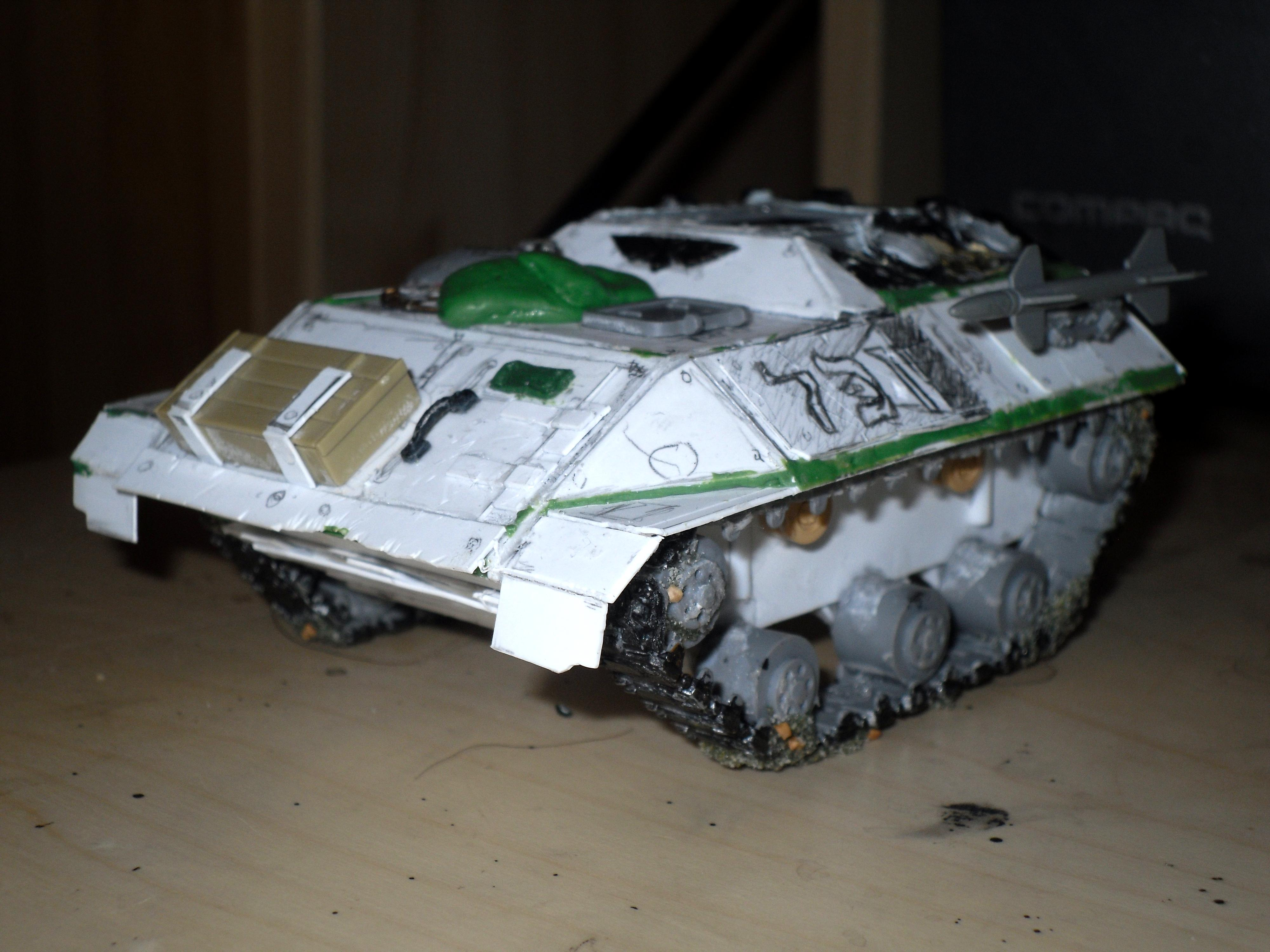 Carrier, Chimera, Deathstrike, Griffon, Imperial, Imperial Guard, Mortar, Tank, Work In Progress