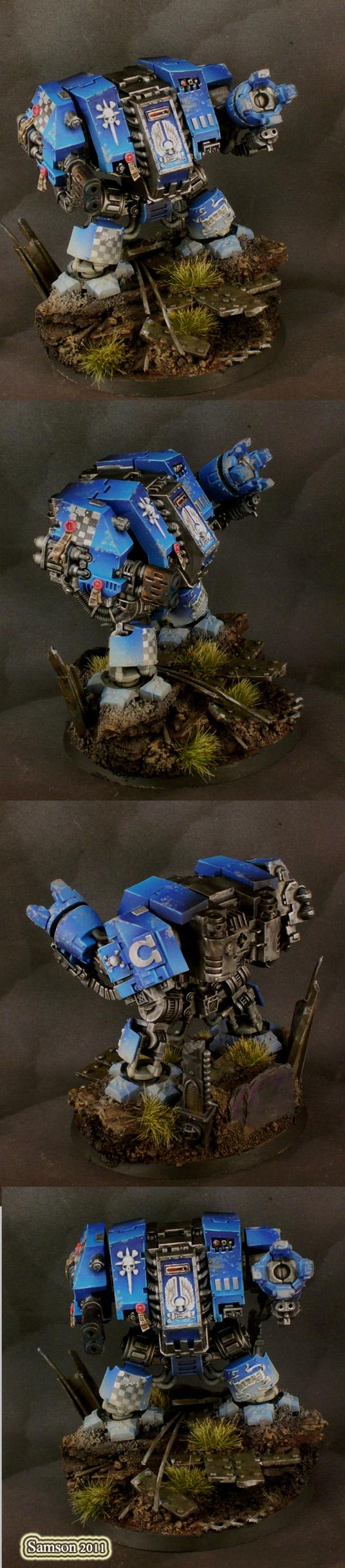 Assault On Black Reach, Awesome, Dccw, Dreadnought, Multimelta, Space Marines