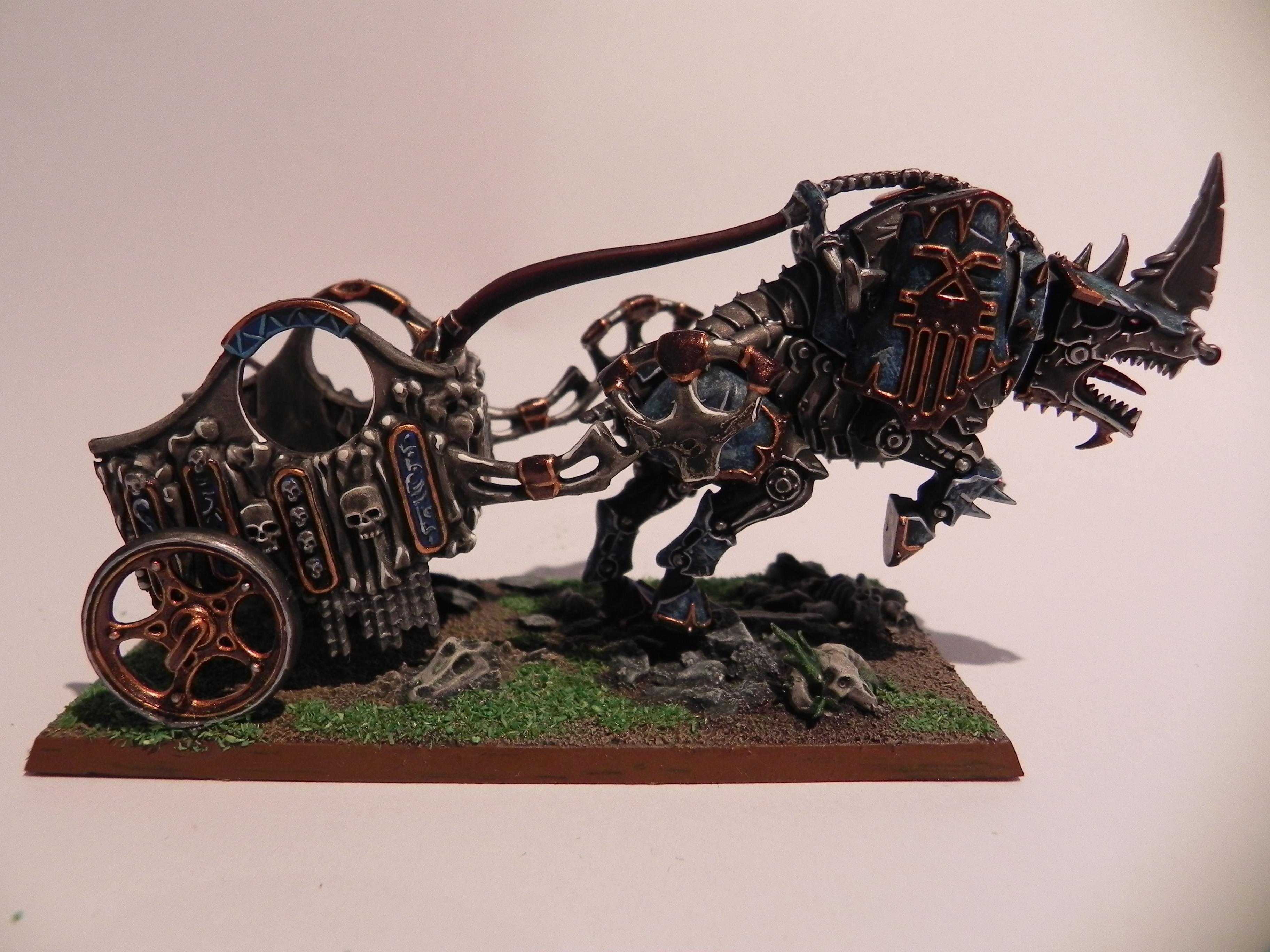 Chaos Daemons, Chariot, Daemons, Khorne