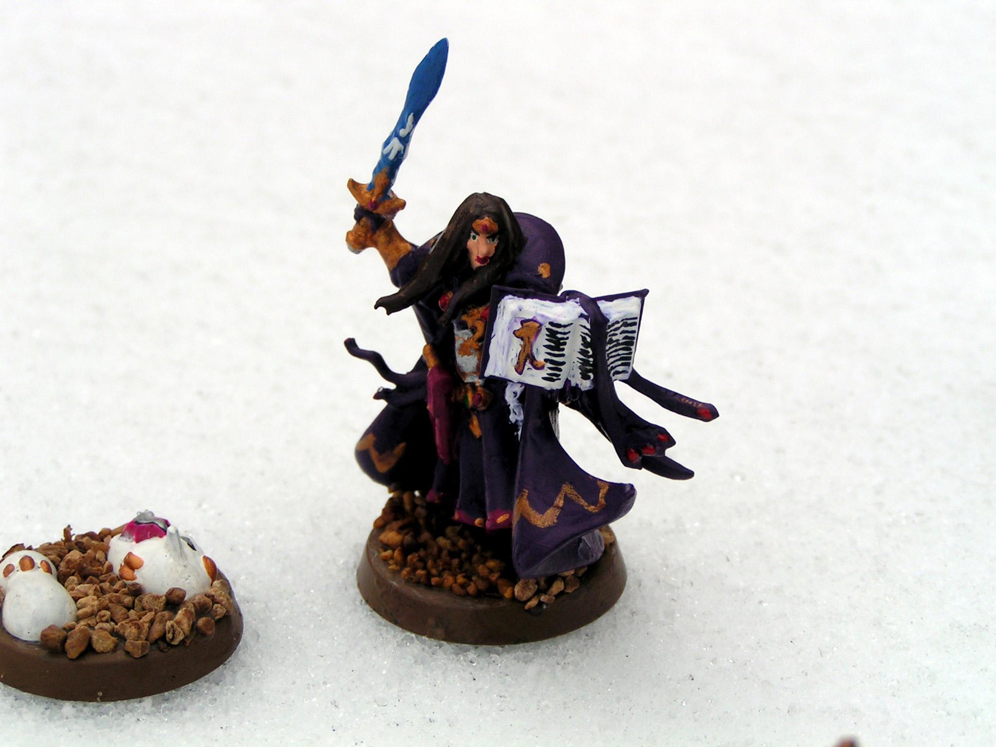 Conversion, Eldar, Farseer, Gyrinx, High Elves, Seer Council, Warlock
