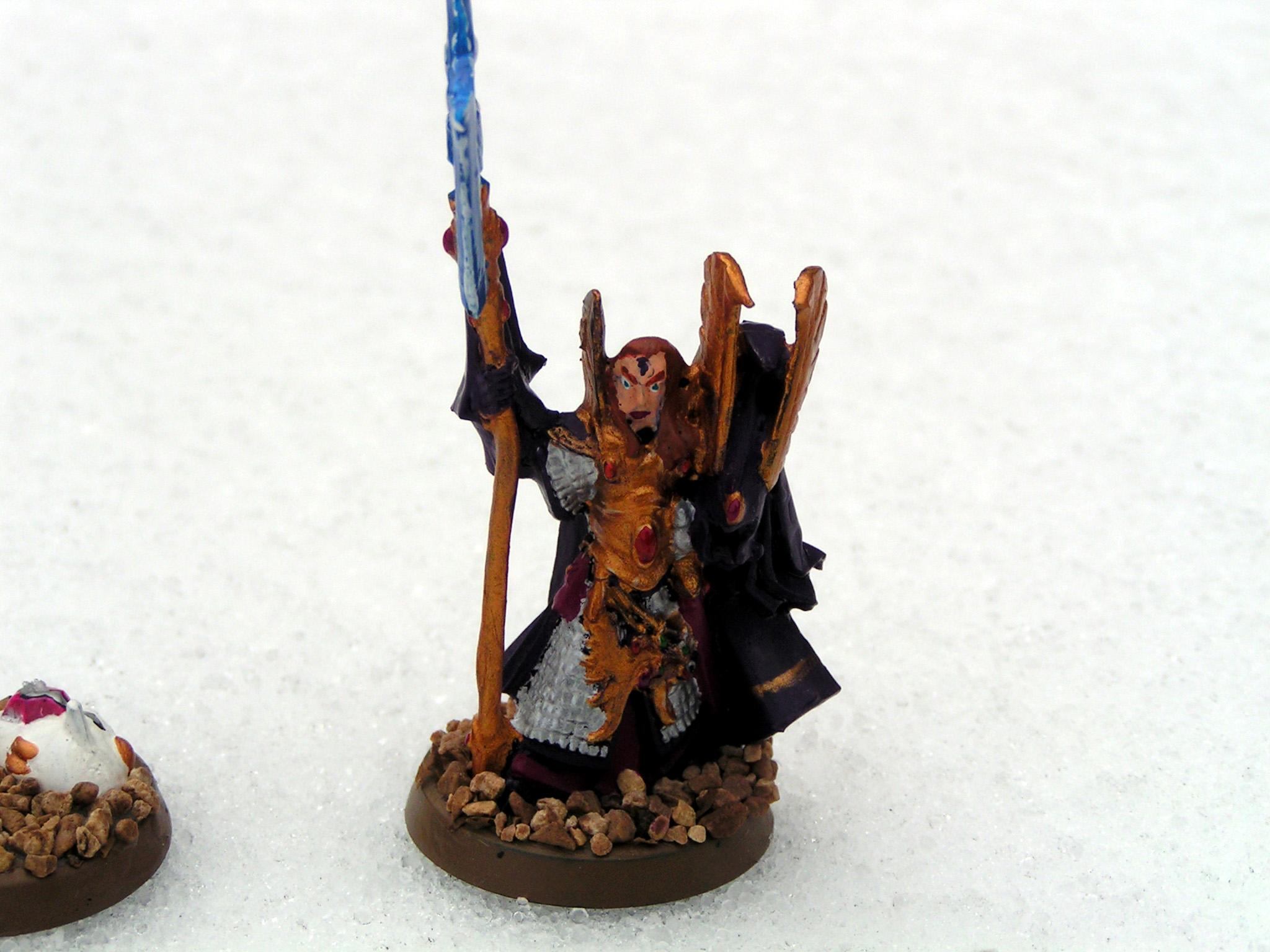 Conversion, Eldar, Farseer, Gyrinx, High Elves, Seer Council, Warlock