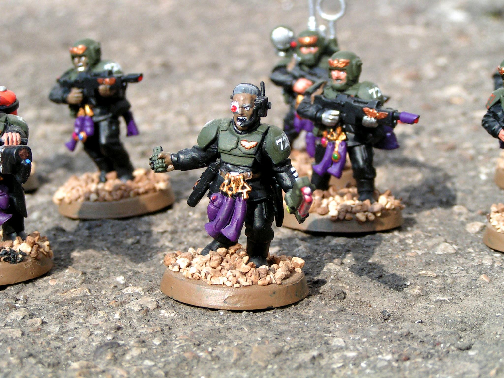 Astra Militarum, Conversion, Eldar, Eldar Abuse, Imperial Guard, Veteran