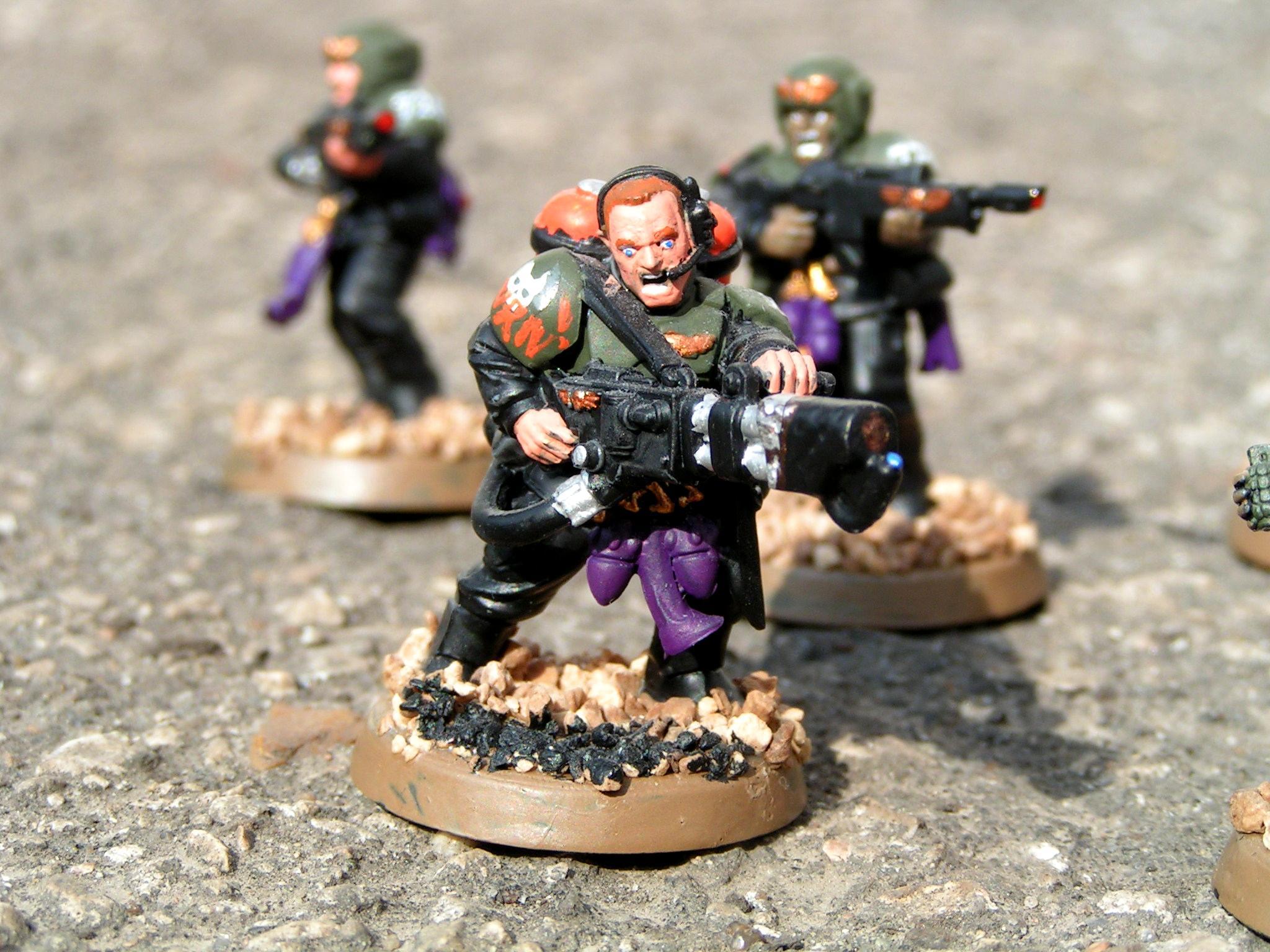 Astra Militarum, Conversion, Eldar Abuse, Imperial Guard, Veteran