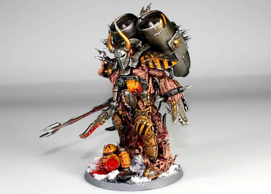 Chaos, Daemon Prince, Iron Warriors, Scratch Build