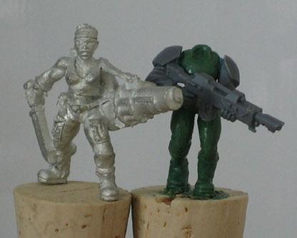 Cadians, Female, Female Cadian, Female Guard, Greenstuff, Imperial Guard, Scratch Build, Sculpting, Space Marines