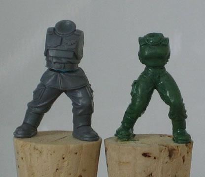 Cadians, Female Cadian, Female Guard, Greenstuff, Imperial Guard, Scratch Build, Sculpting