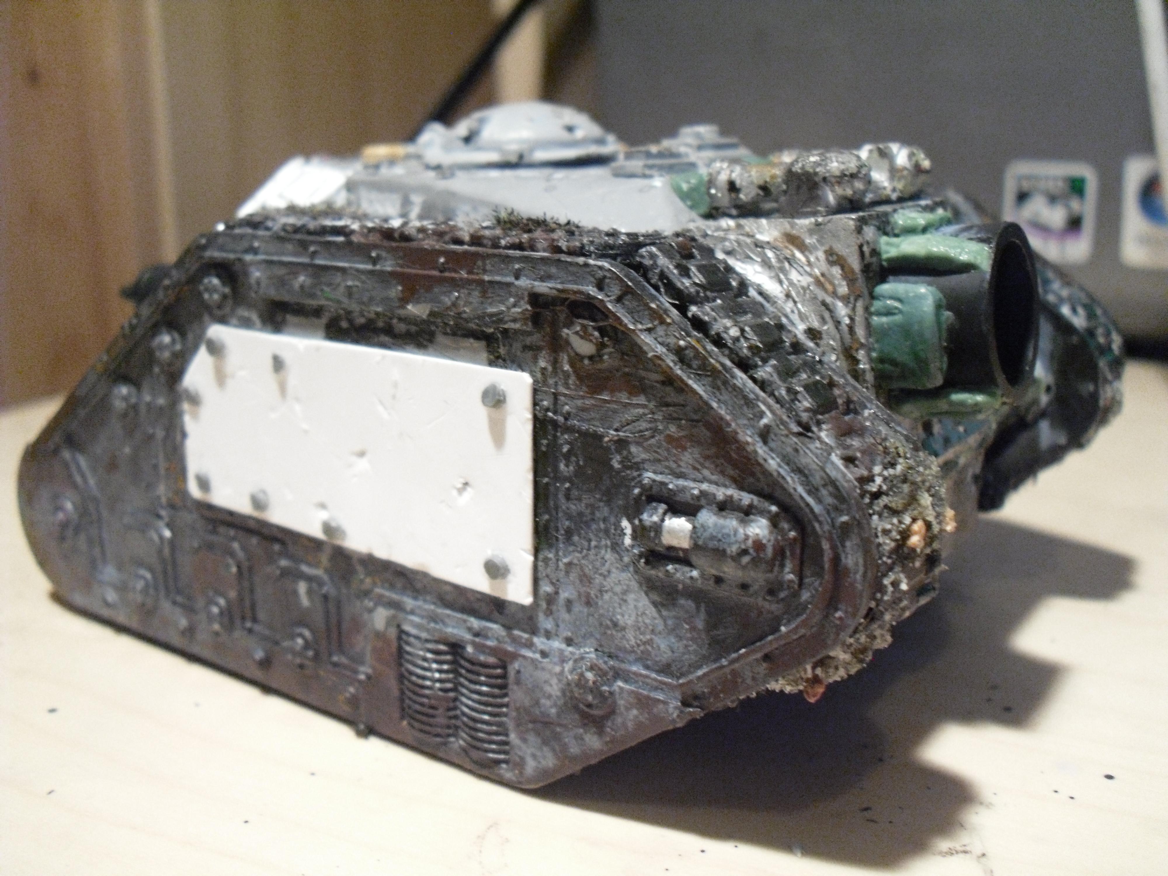 Demolisher, Imperial, Imperial Guard, Leman, Russ, Siege, Tank, Thunderer, Thunderer 03, Work In Progress