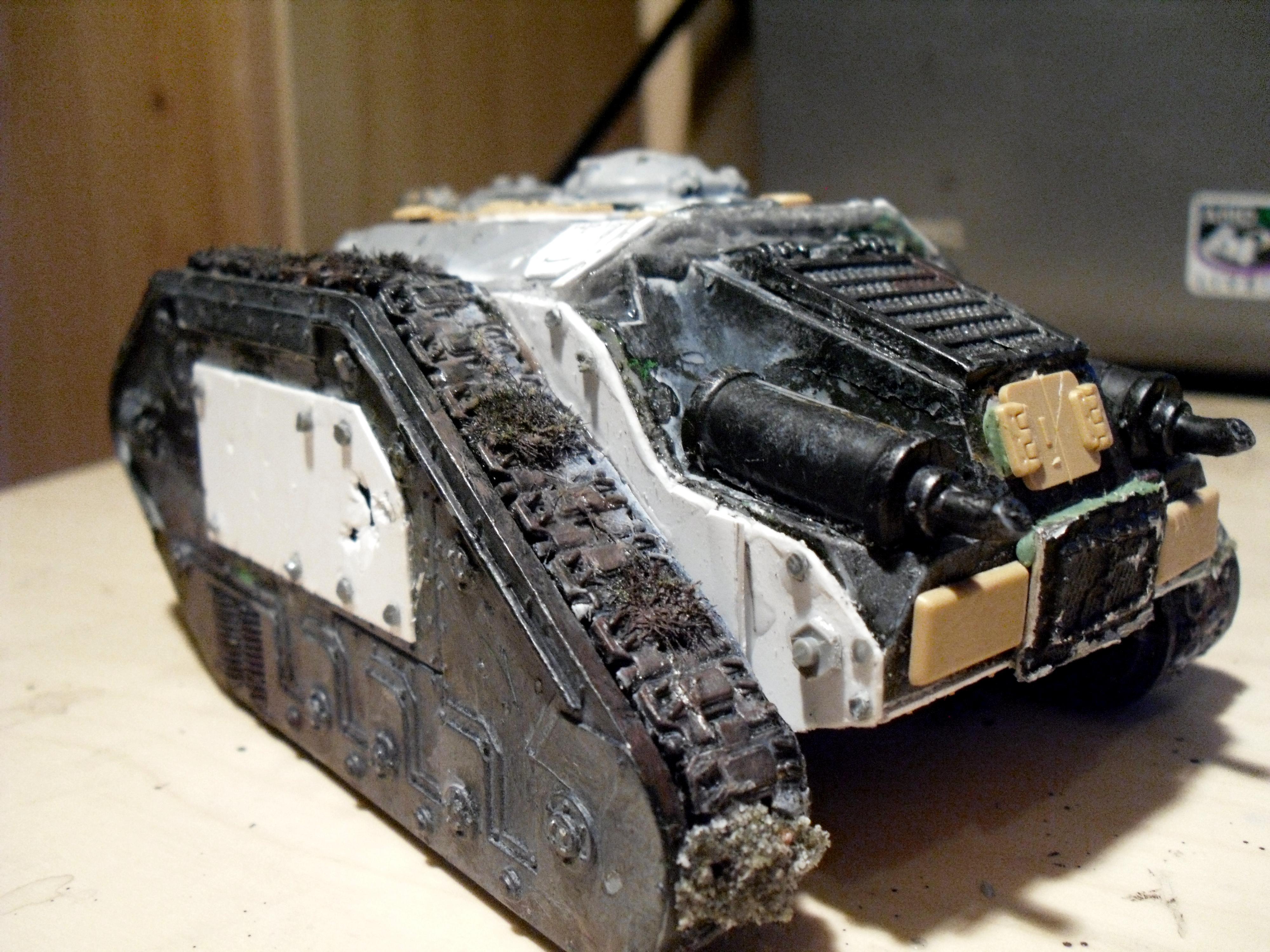 Demolisher, Imperial, Imperial Guard, Leman, Russ, Siege, Tank, Thunderer, Work In Progress