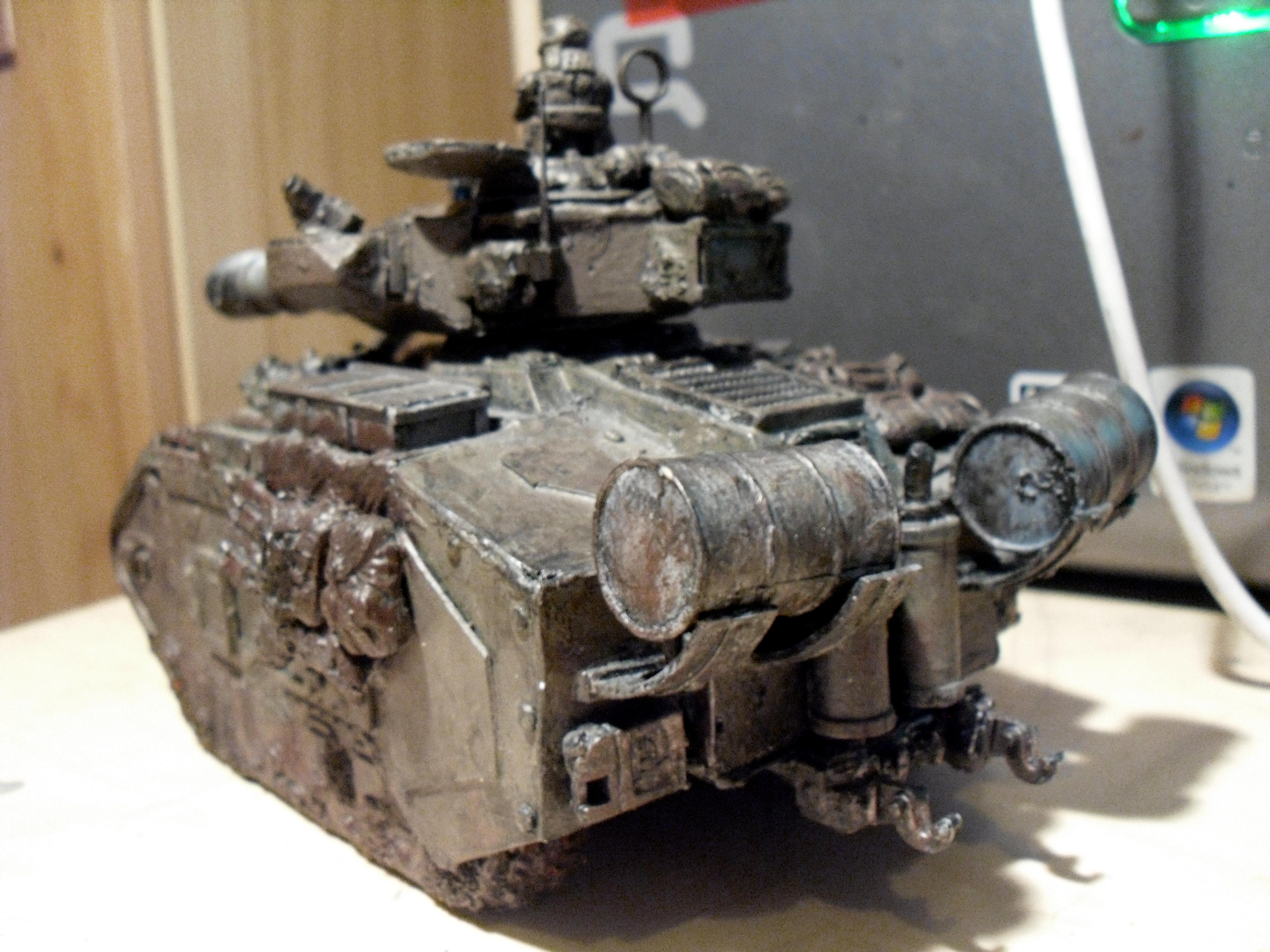 Conversion, Extra Armour, Imperial Guard, Leman, Leman Russ, Macharius, Russ, Tank, Work In Progress