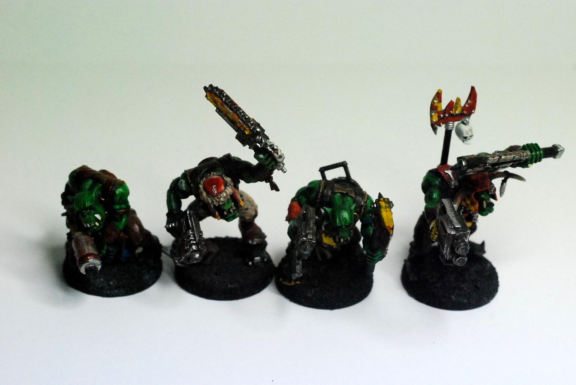 Boy, Orks, Finished Boyz