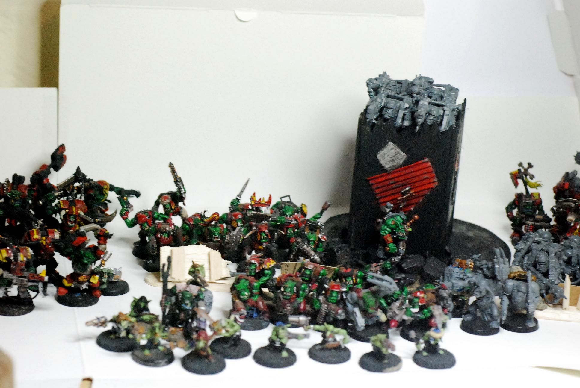 Evil Sunz, Full Army, Nifty, Orks