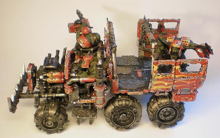 Battlewagon, Orks, Warhammer 40,000, Warhammer 400000
