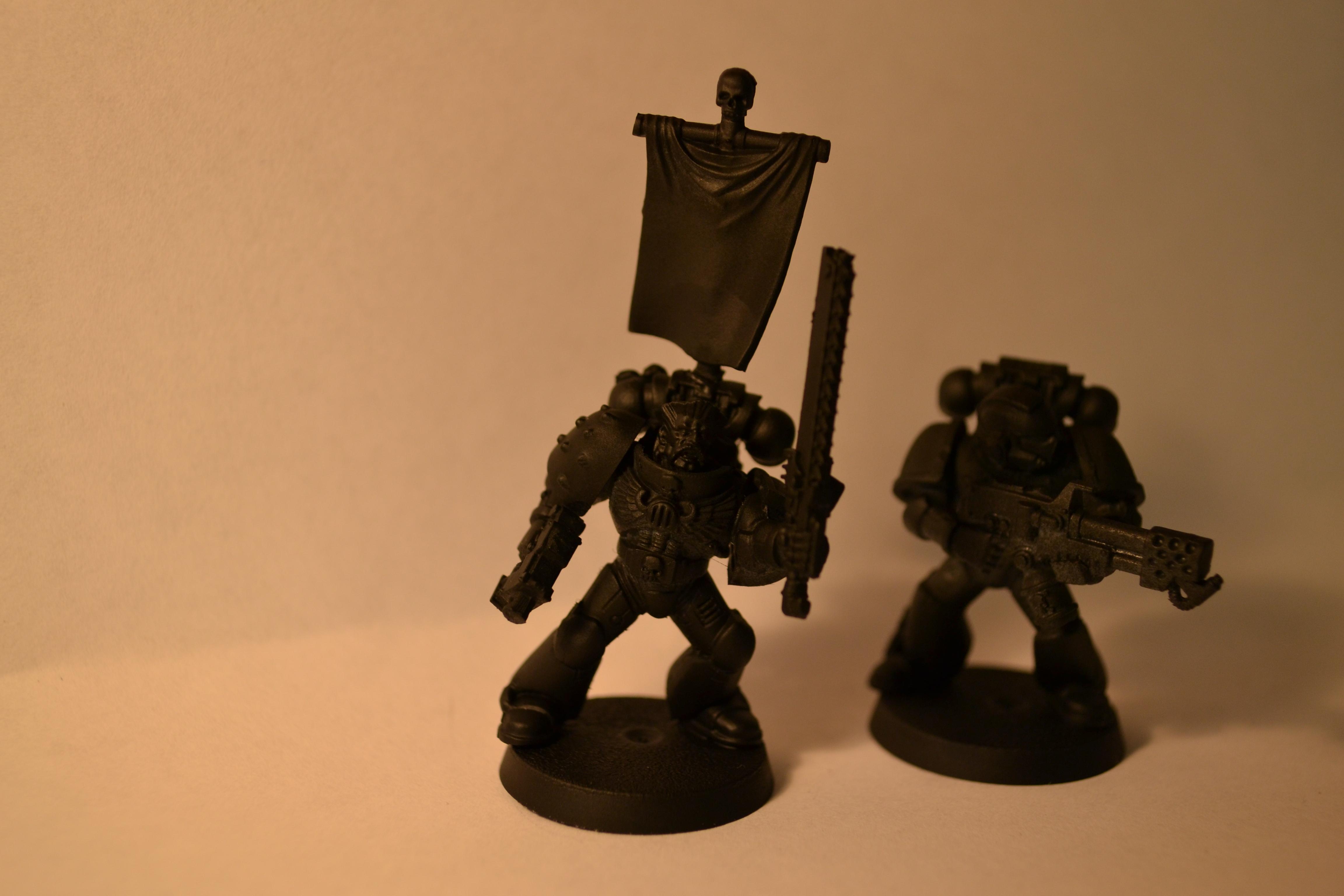 4th Company, 4th Company Ultramarines, Assembled, Black, Company, Space Marines, Ultramarines, Work In Progress