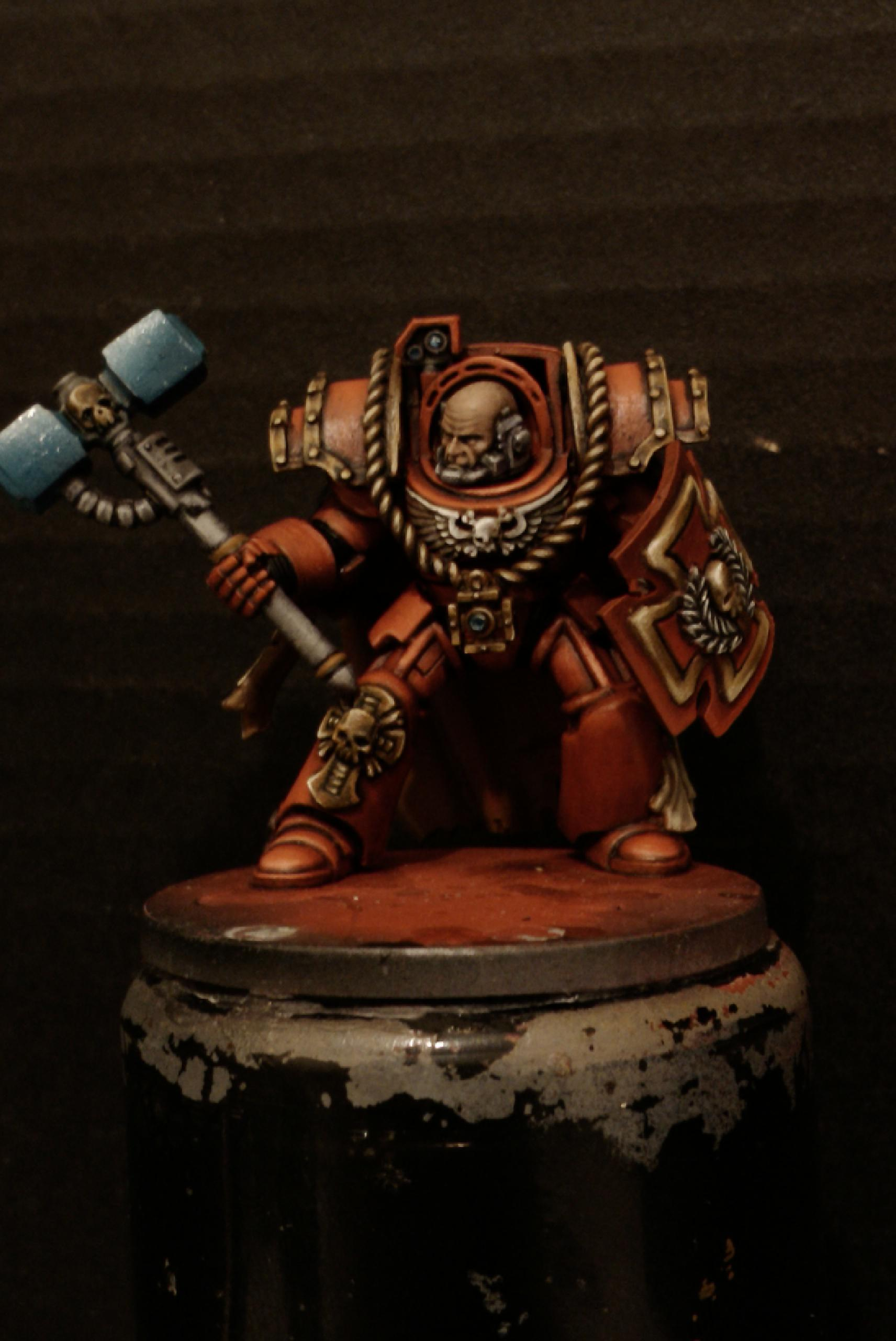 Horus Heresy, Terminator Armor, Thunder Hammer