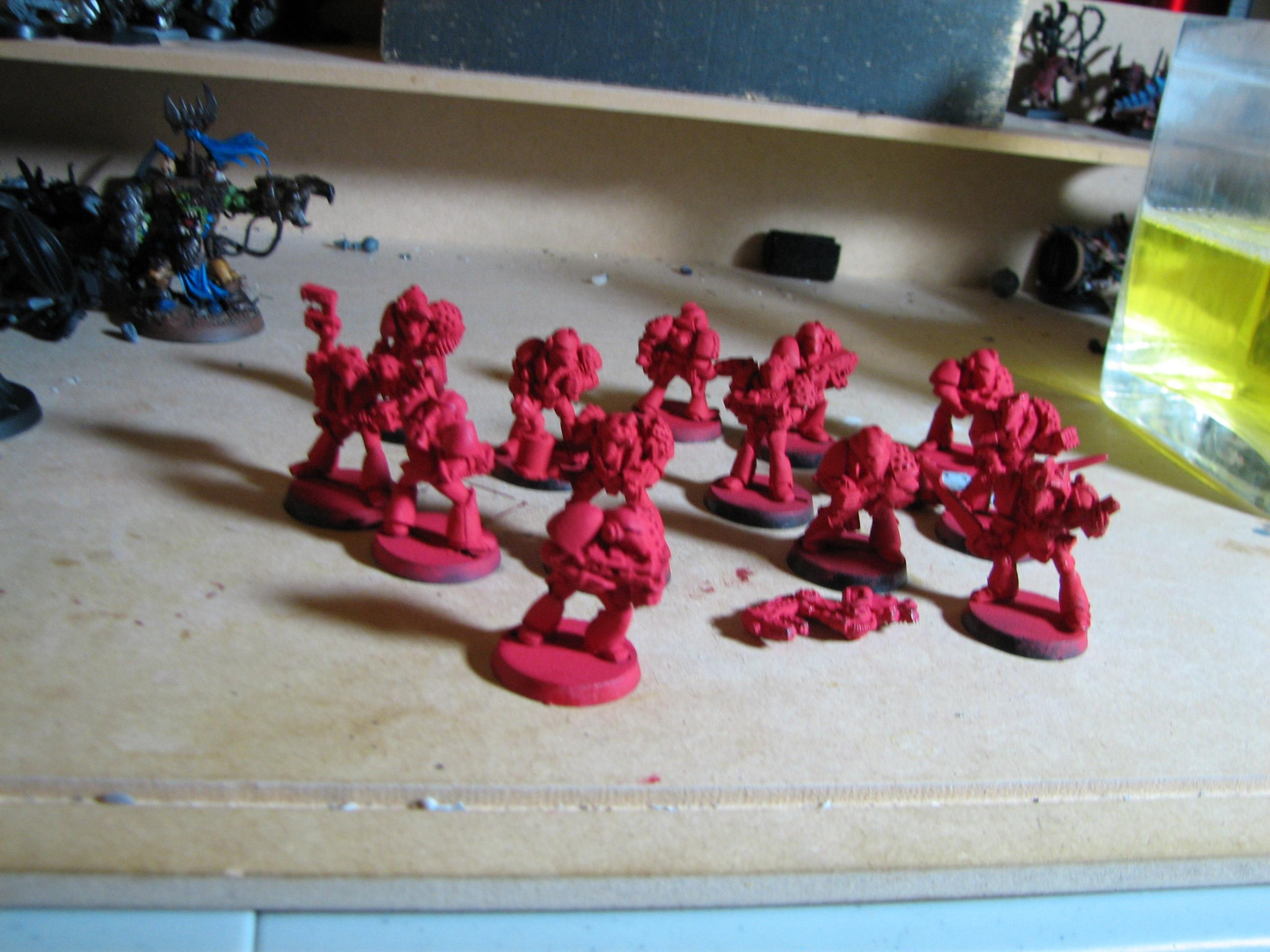 80s, Beakies, In, Lead, Progress, Space, Space Marines, Warhammer 40,000, Warhammer Fantasy, Work
