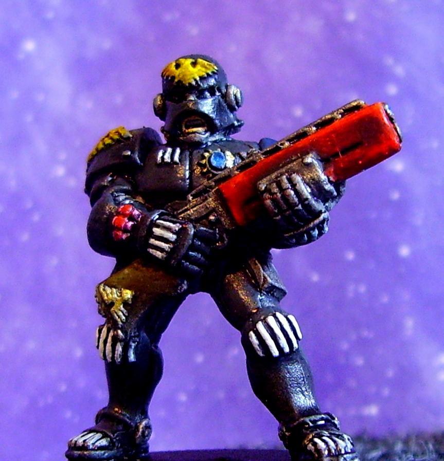 Adeptus Arbites, Enforcer, Shotgun