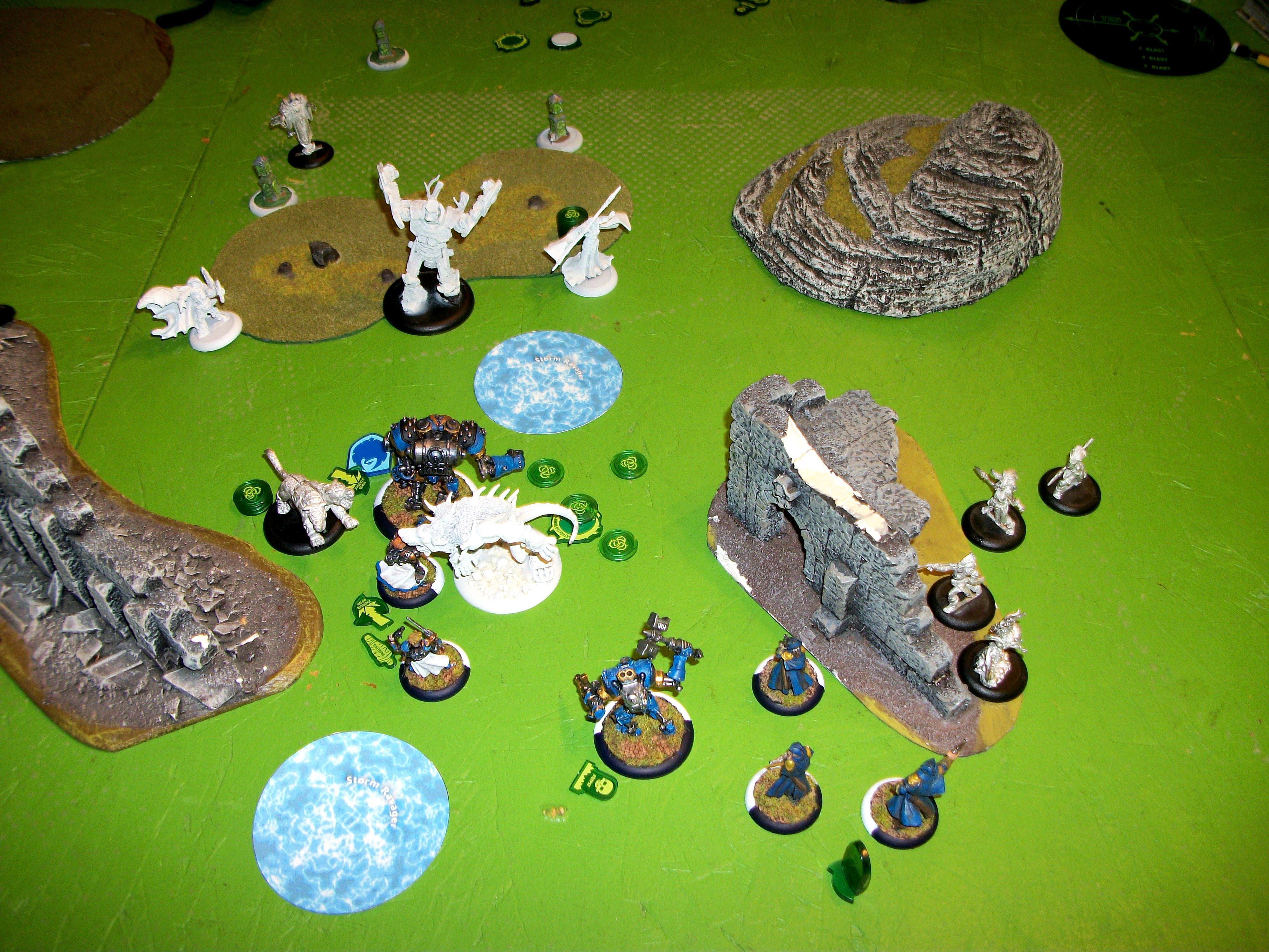 35 Points, Circle Of Orboros, Cygnar, Warmachine