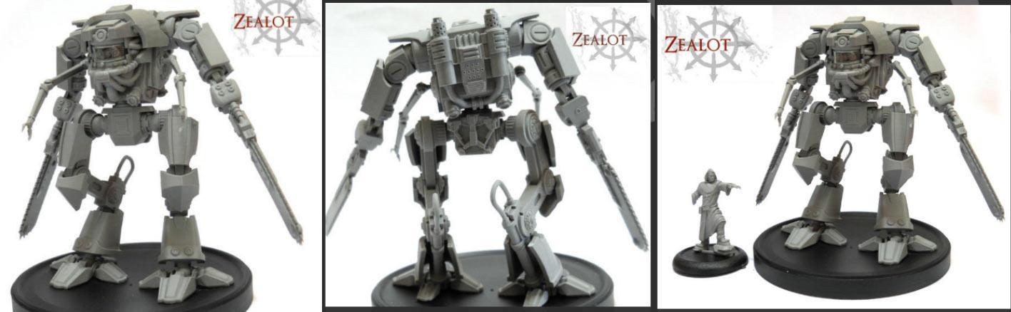 Zealot Games, Zealot Games - M2 Walker