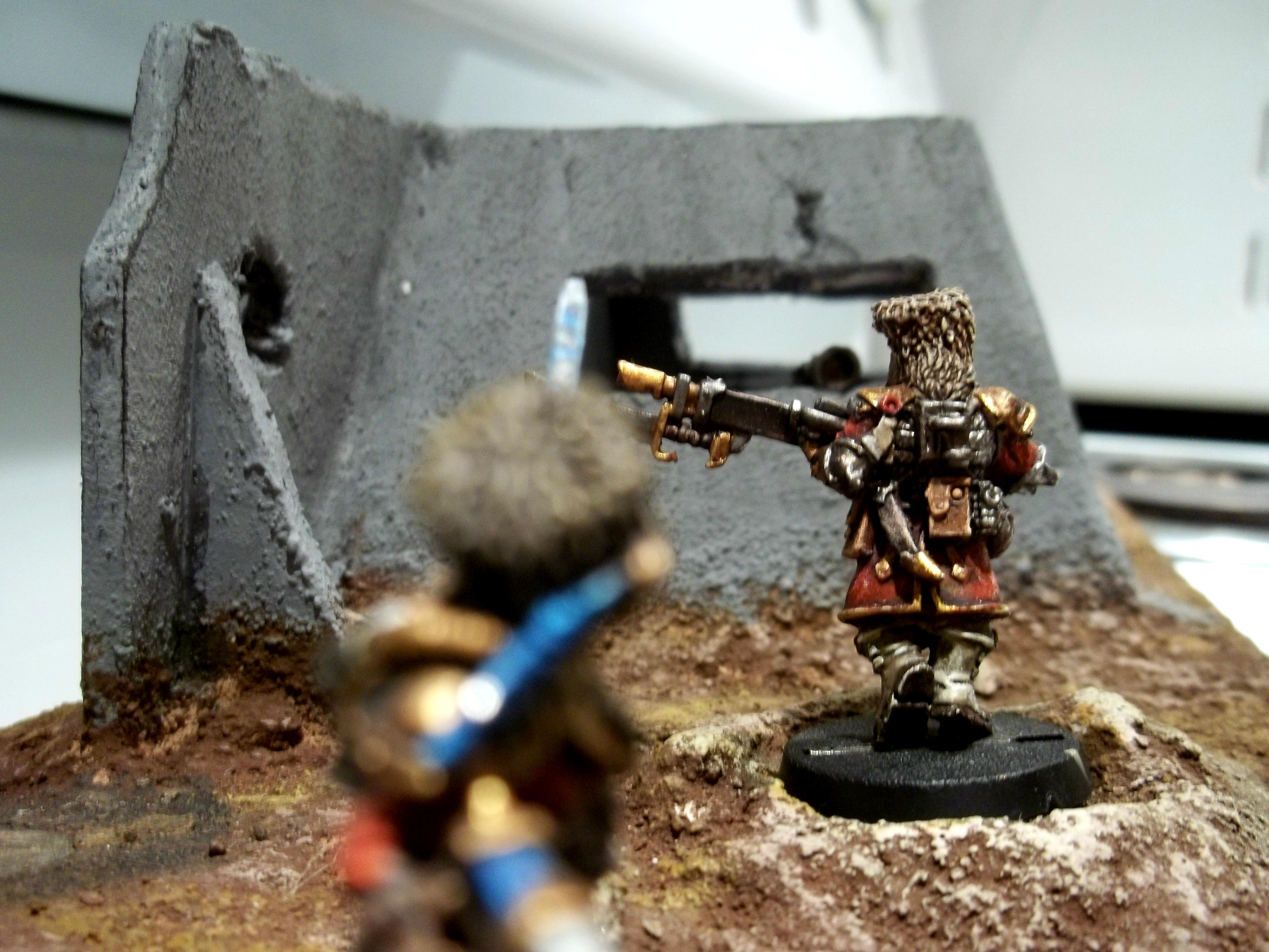 Diorama, Firstborn, Imperial Guard, Infantry, Vostroyan, Vostroyan Firstborn, Vostroyans