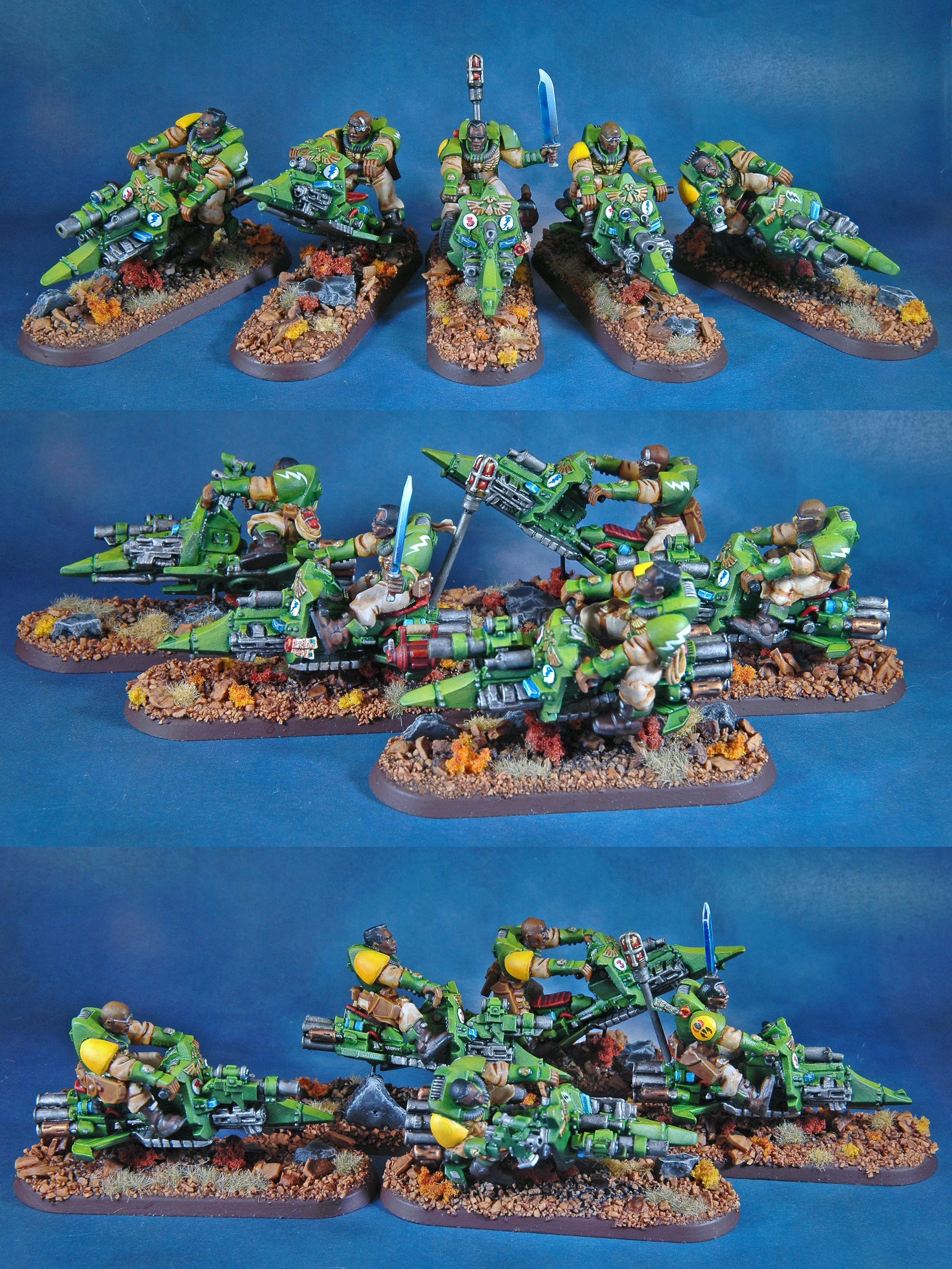 Bike, Jet Bikes, Mantis Warriors, Scouts, Space Marines, Warhammer 40,000