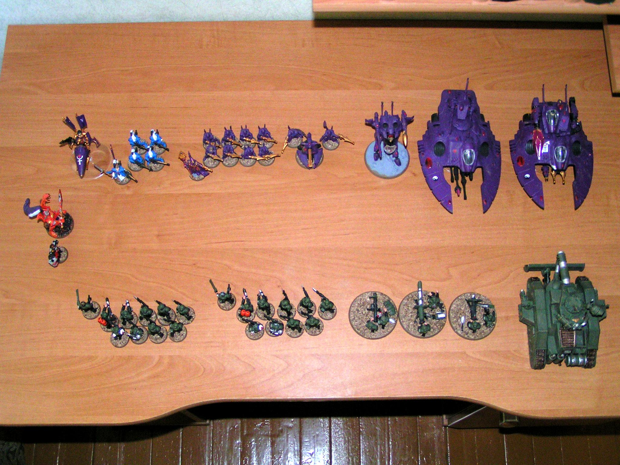 Astra Militarum, Battleforce, Heavy Weapon, Imperial Guard, Infantry Squad, Leman Russ, Yarrick