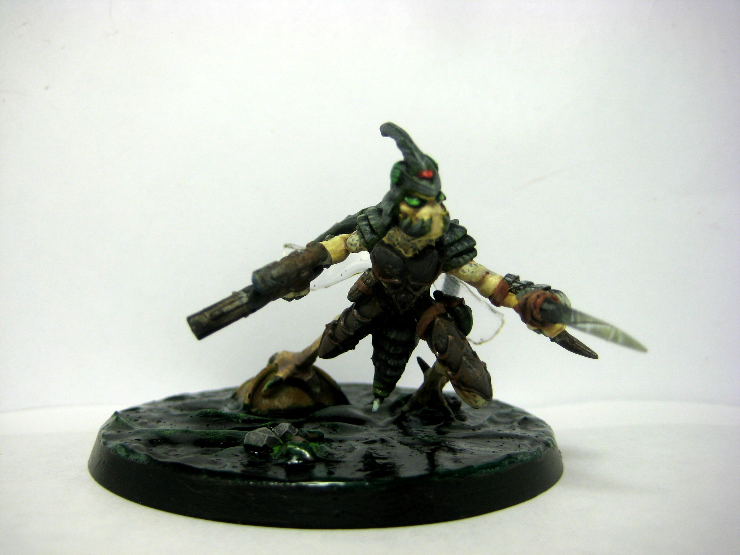 Assassin, Conversion, Greenstuff, Samurai, Sorcerer, Stingwing, Tau, Tzeentch, Warhammer 40,000, Warhammer Fantasy