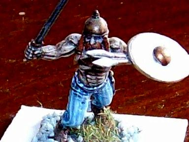 28mm Figures, Acrylic Paints, Ancient British Warrior, Celts, Military Minitures, Wargame Minitures, Warhammer Figures