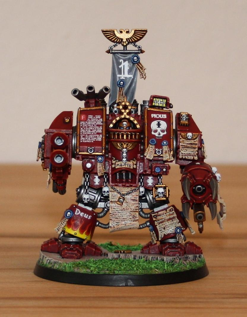 Dreadnought, Inquisition, Red Hunters, Space Marines