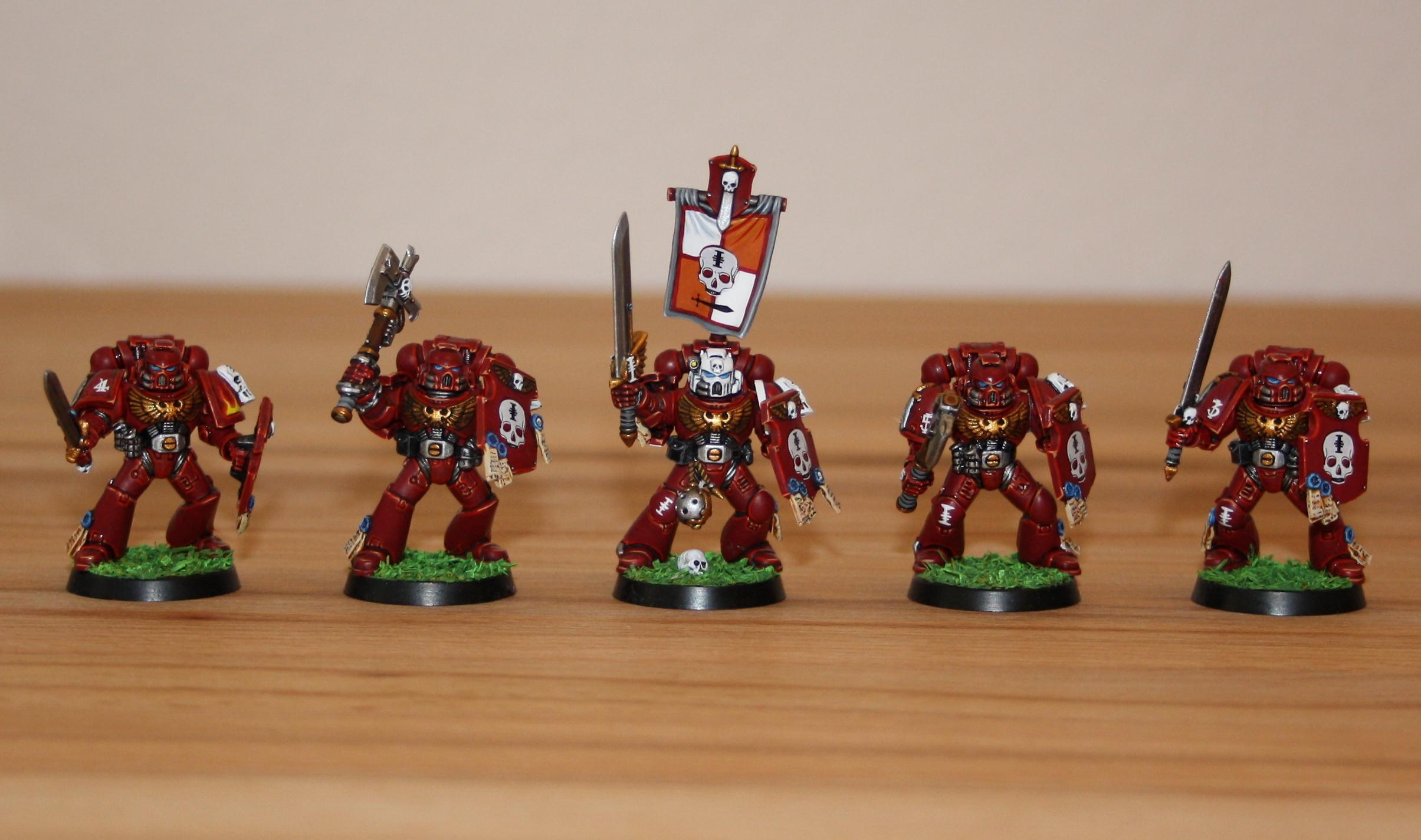 Inquisition, Red Hunters, Space Marines, Veteran