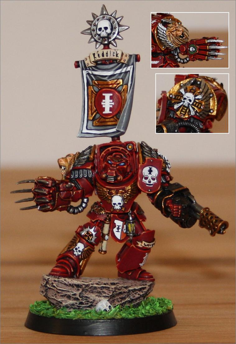 Red Hunters, Space Marines, Terminator Armor