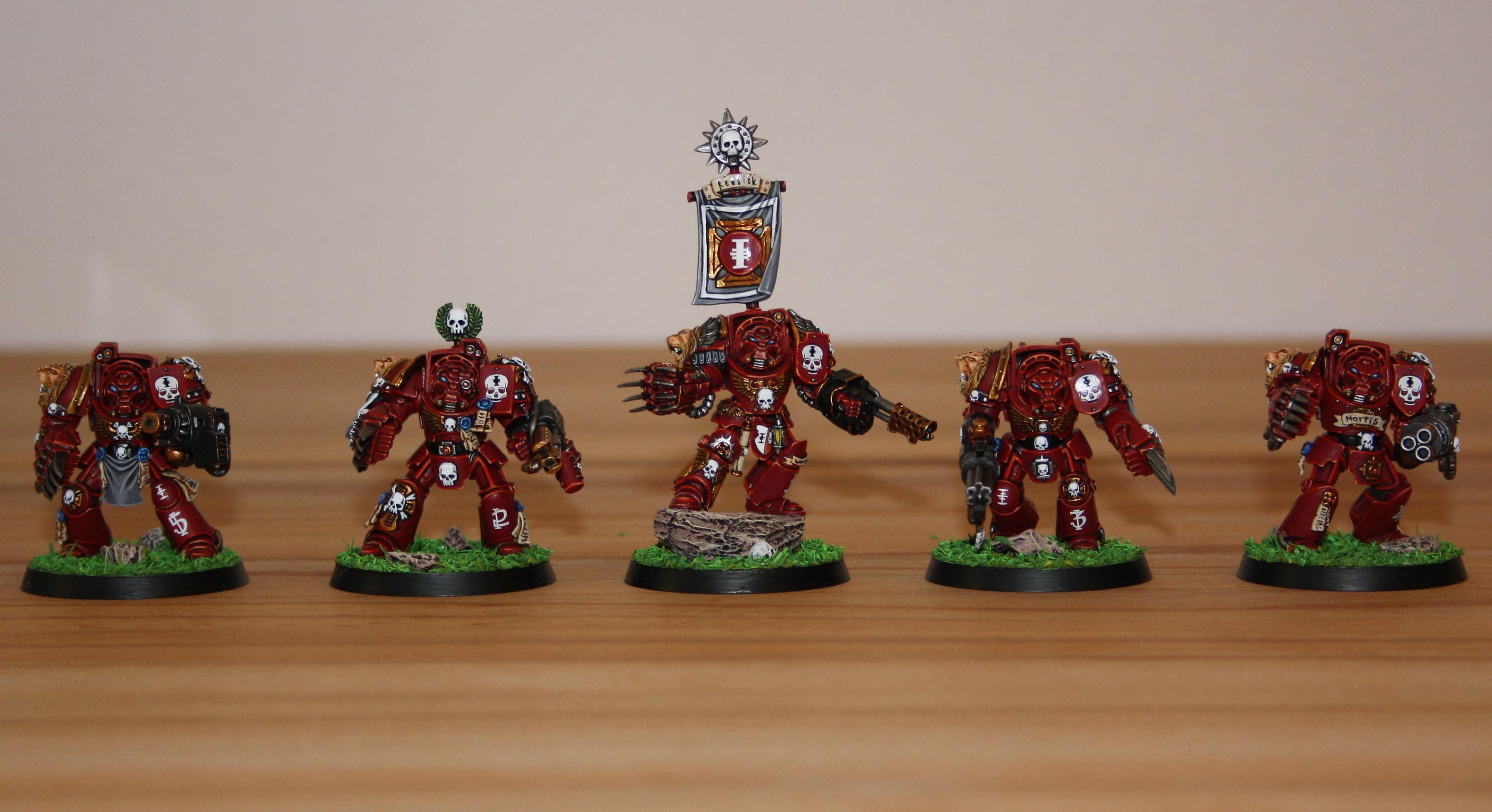 Red Hunters, Space Marines, Terminator Armor, Veteran