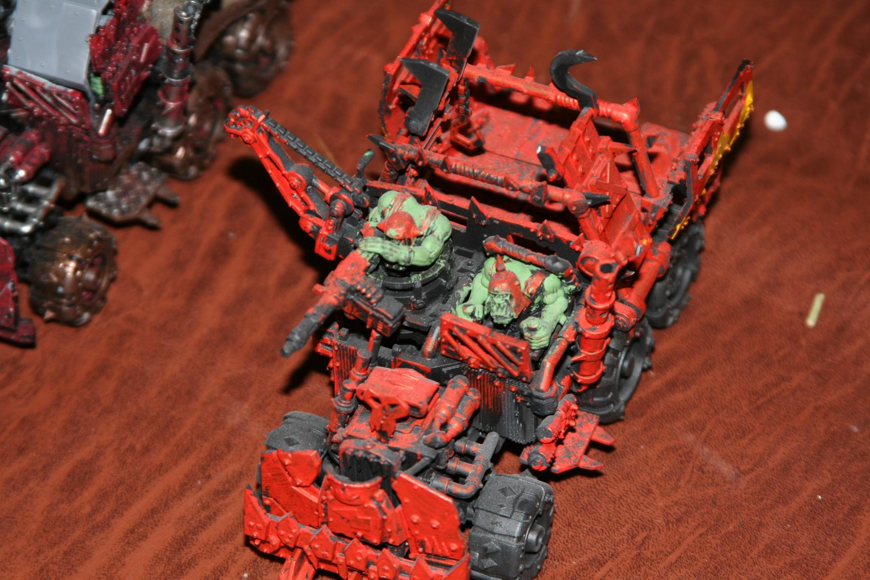 My trukk.  Also my first unit for Orks