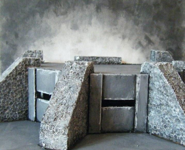 Blockhaus, Bunker, Décors, Polystyrène, Scratch Build, Terrain, Urban