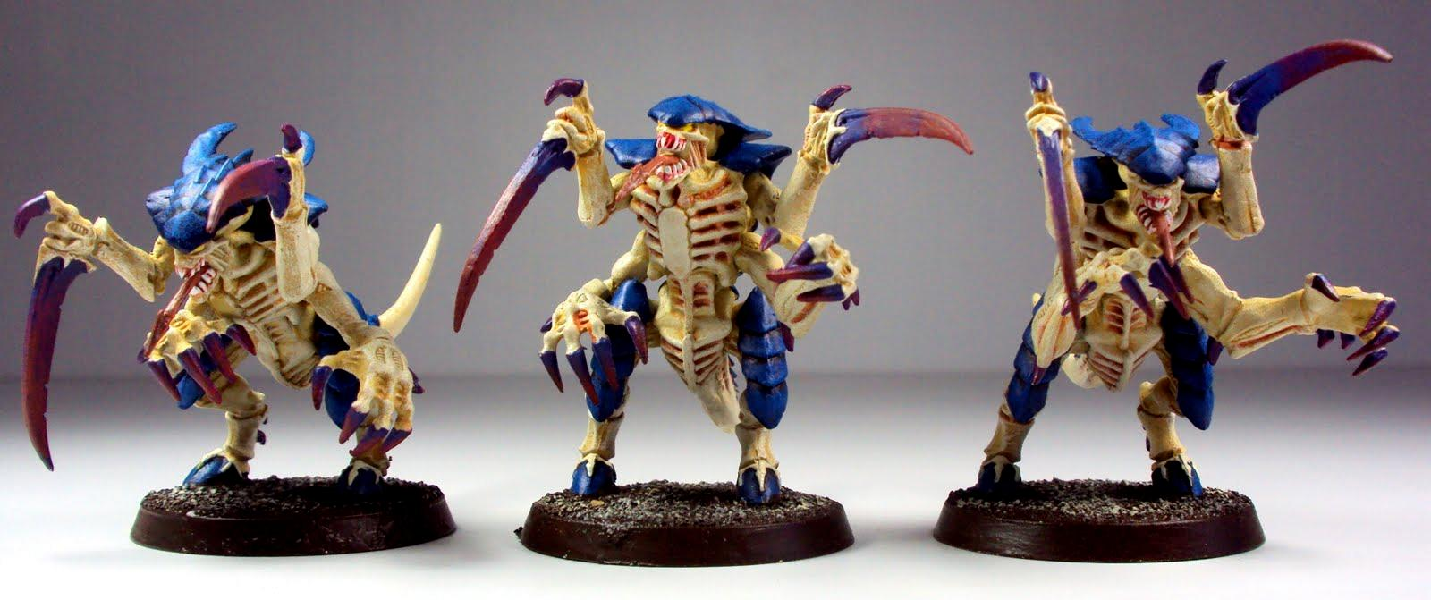 Games Workshop, Tyranids, Warhammer 40,000, Warriors