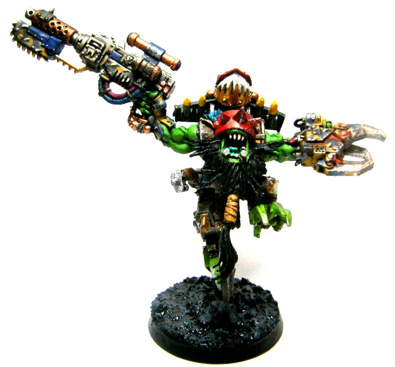 Assault, Big Shoota, Blood Axe, Conversion, Dakka Dakka, Jump, Kitbash, Orks, Power Claw, Power Klaw, Stormboy, Stormboyz, Warboss, Zagstruk, Zagstrukk