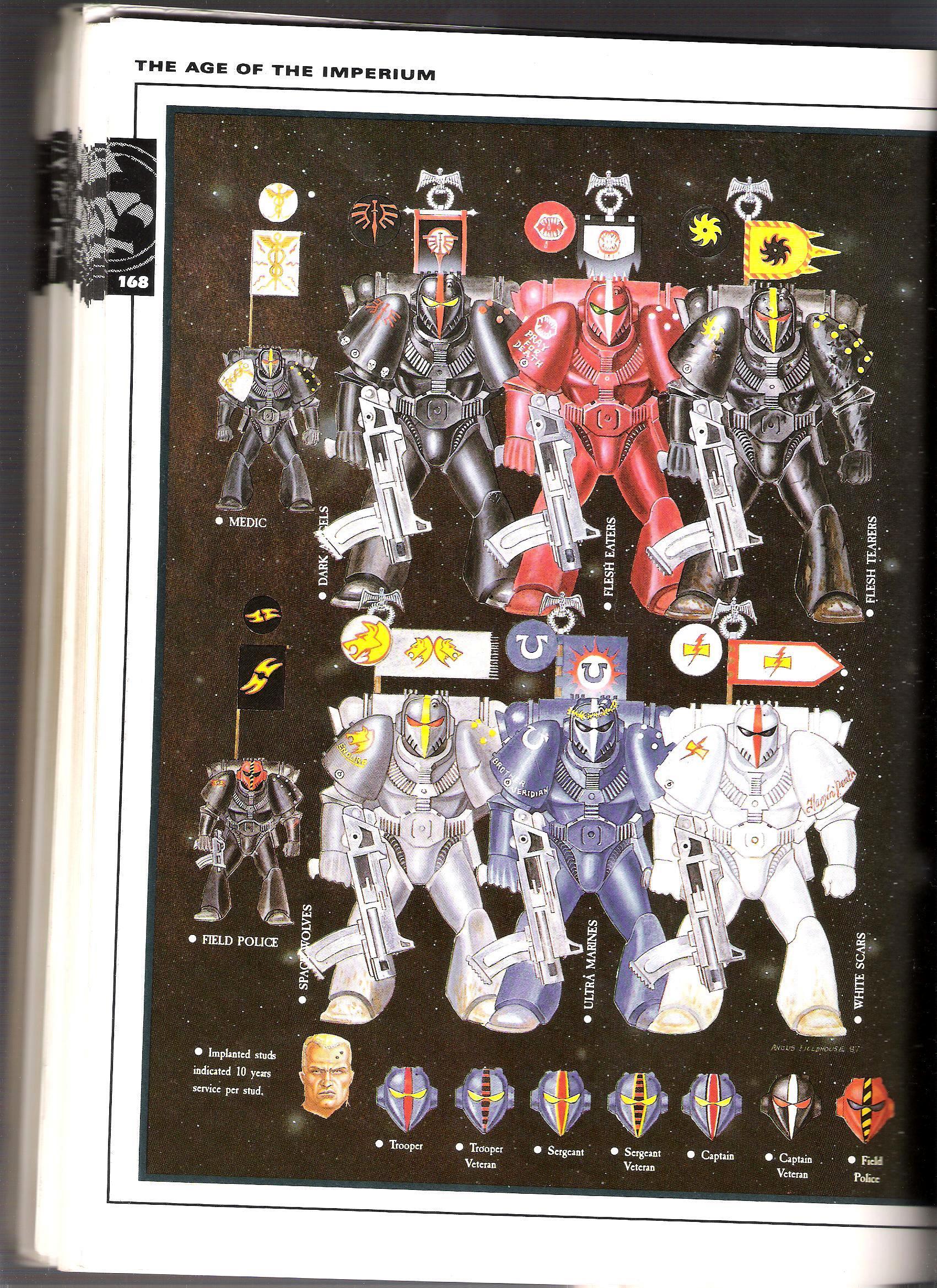 Rogue Trader, Space Marines, Warhammer 40,000