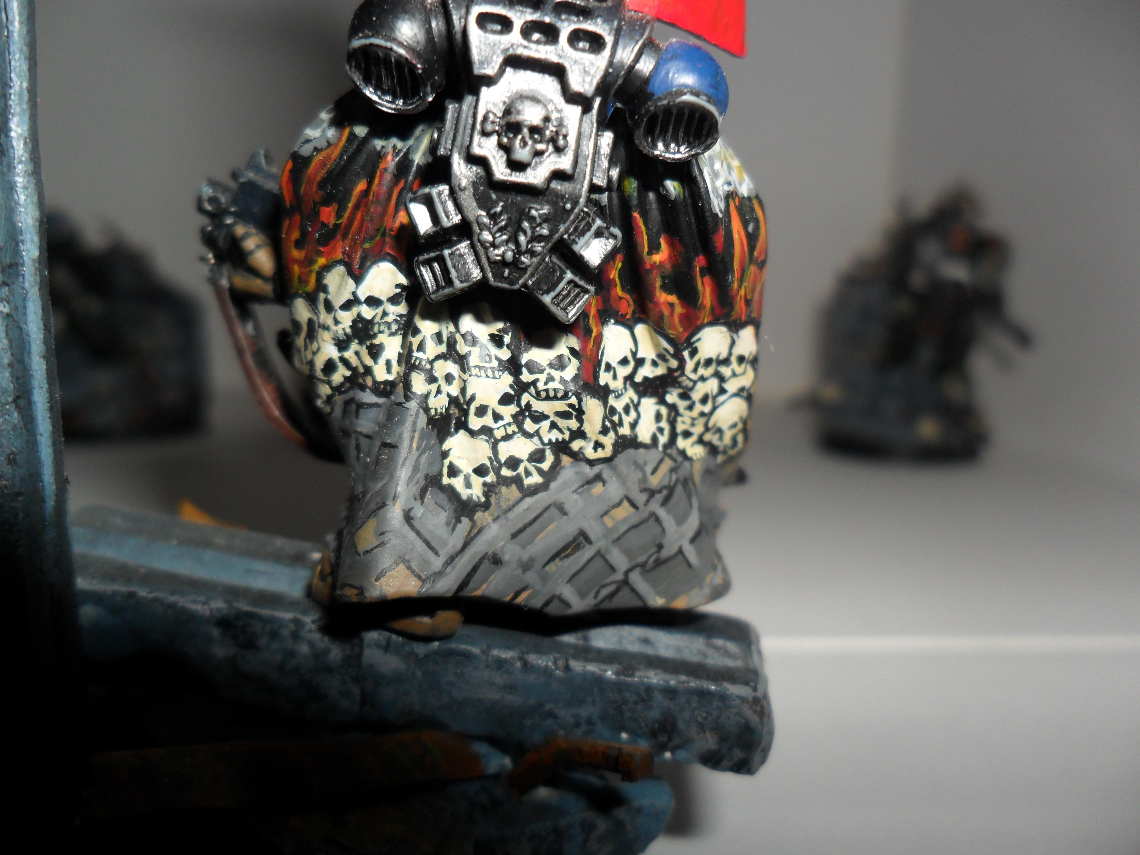Freehand, Skull Cape, Space Marines
