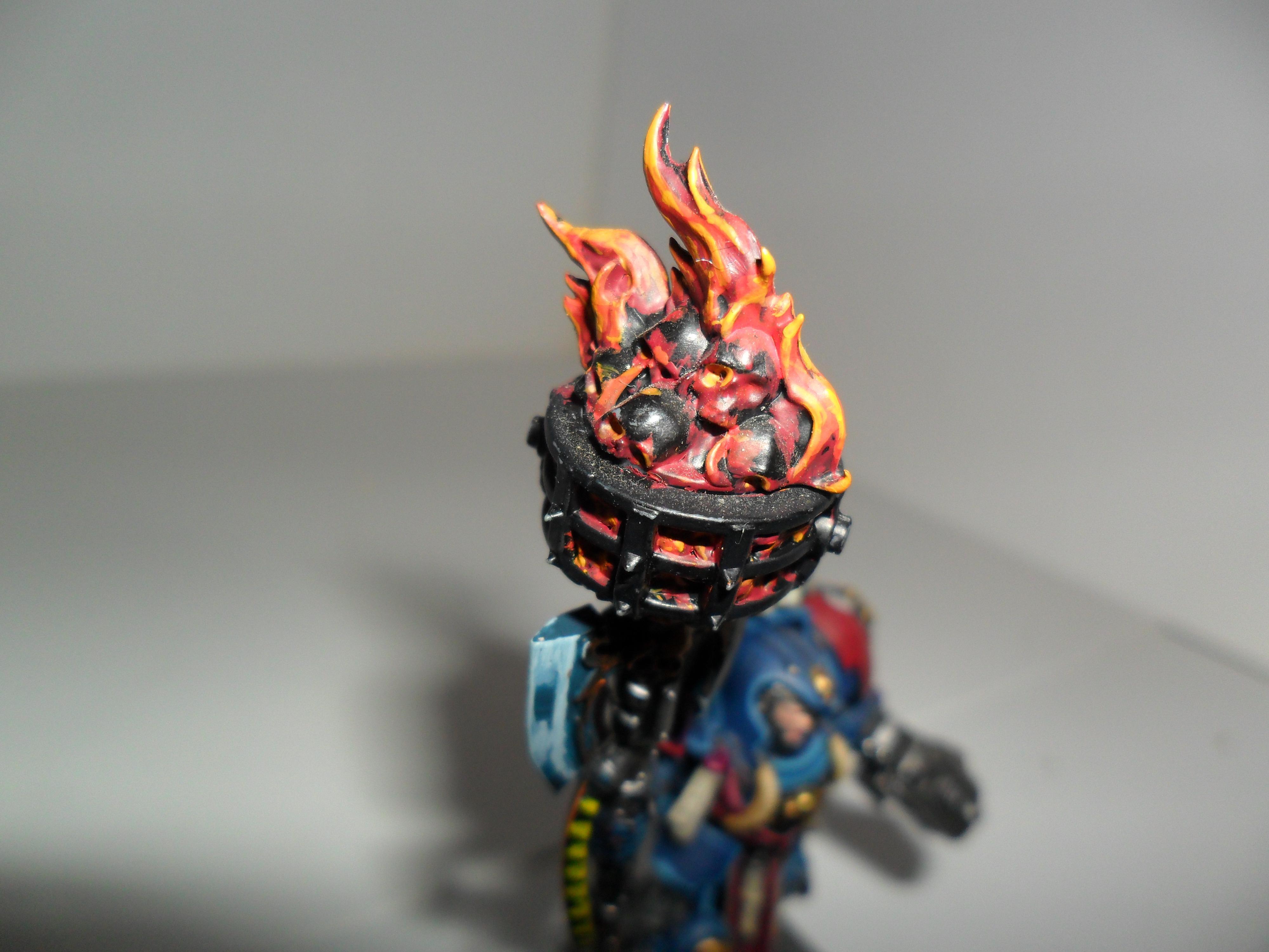Space Marines, Librarian axe