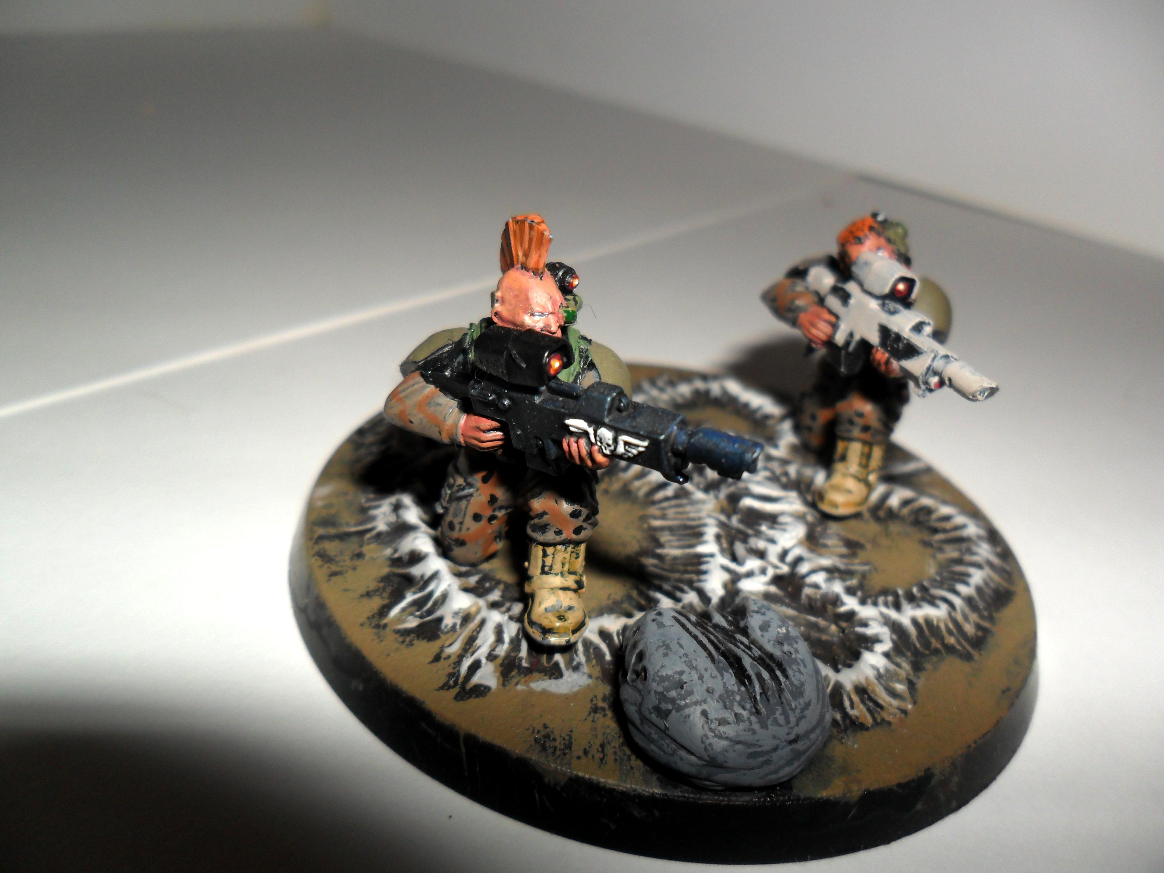 Space Marines, sniper team