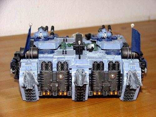 Space Wolve Blood-Pack Land Raider