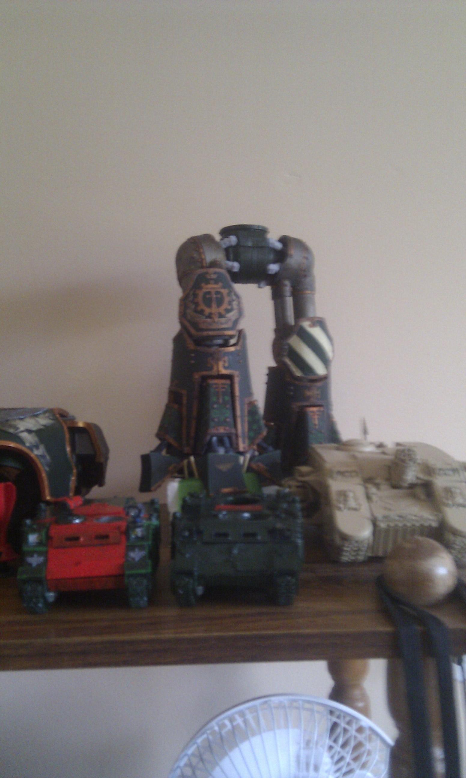 Legs, Progress, Reaver, Titan, Work