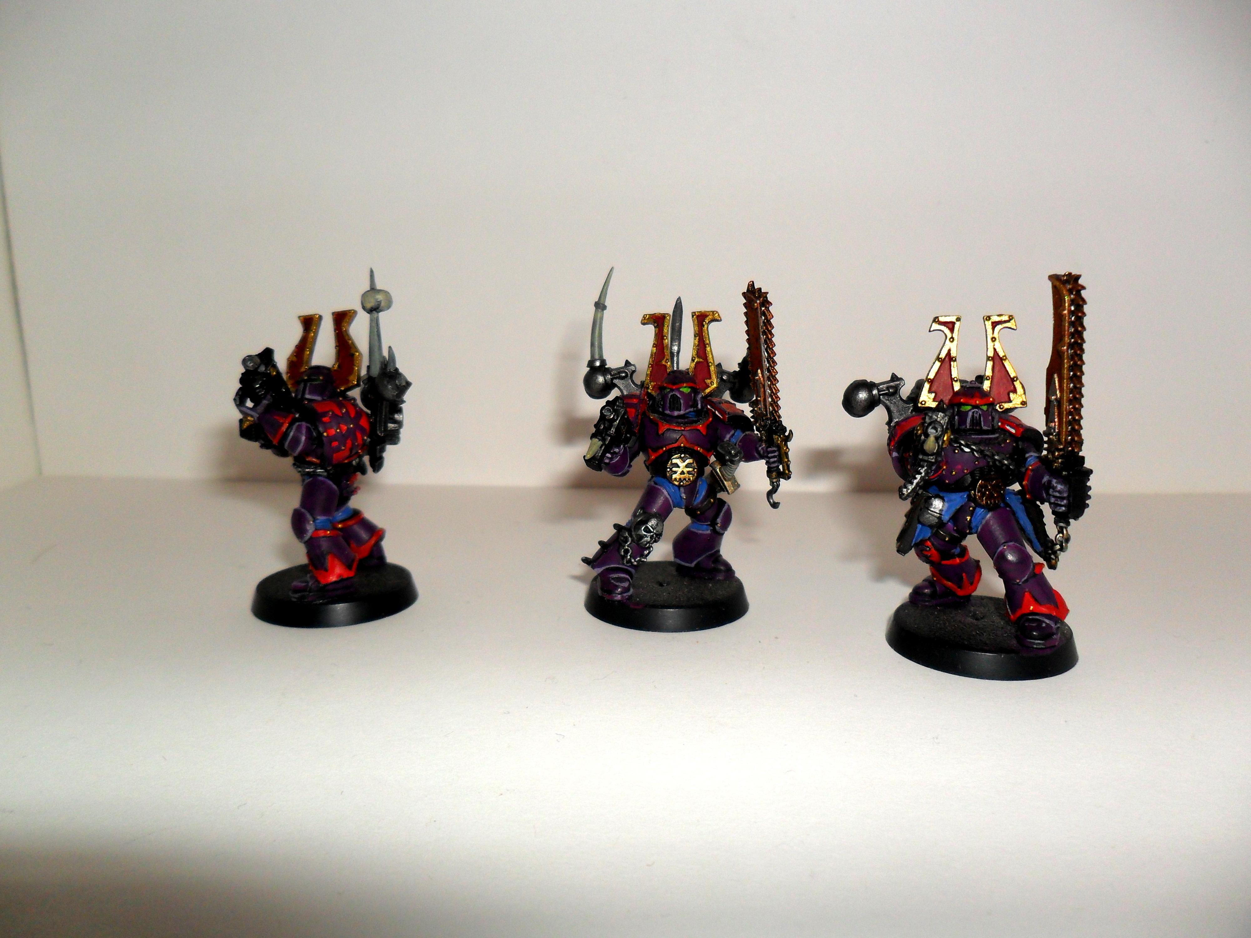 Chaos Space Marines, korn