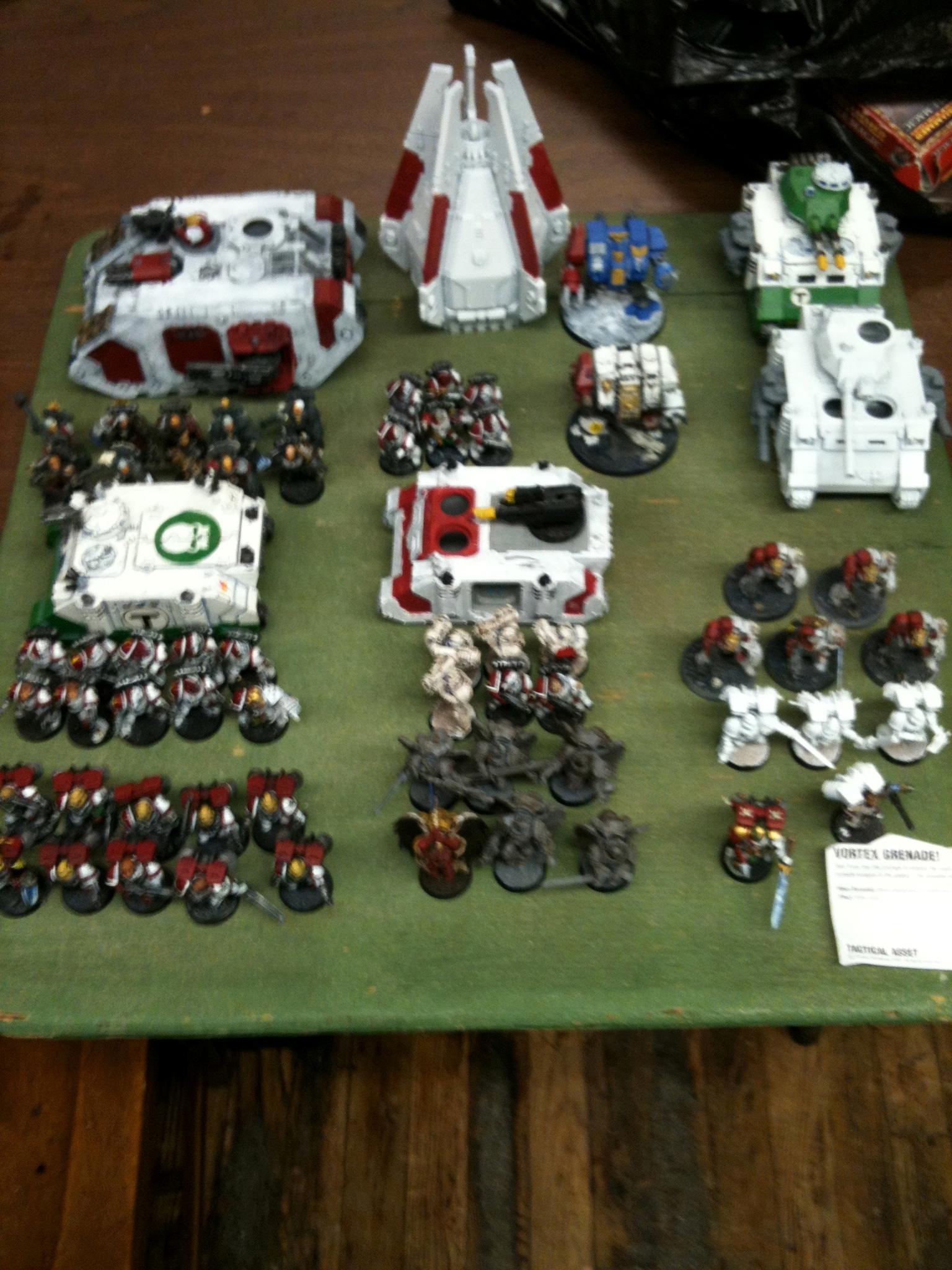 Apocalypse, Army, Blood Angels, Mega-battle, Space Marines, Warhammer 40,000