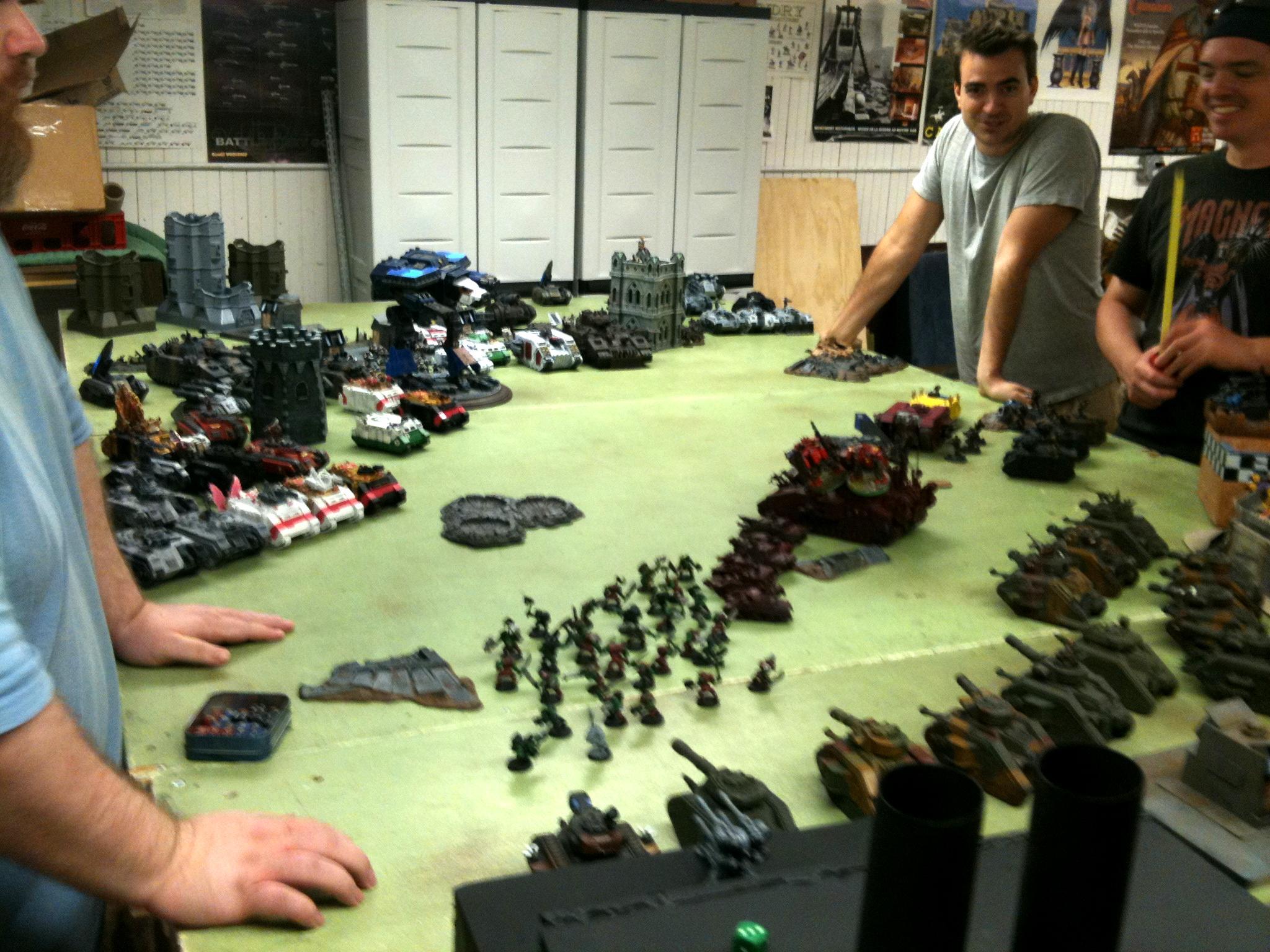Apocalypse, Mega-battle, Warhammer 40,000